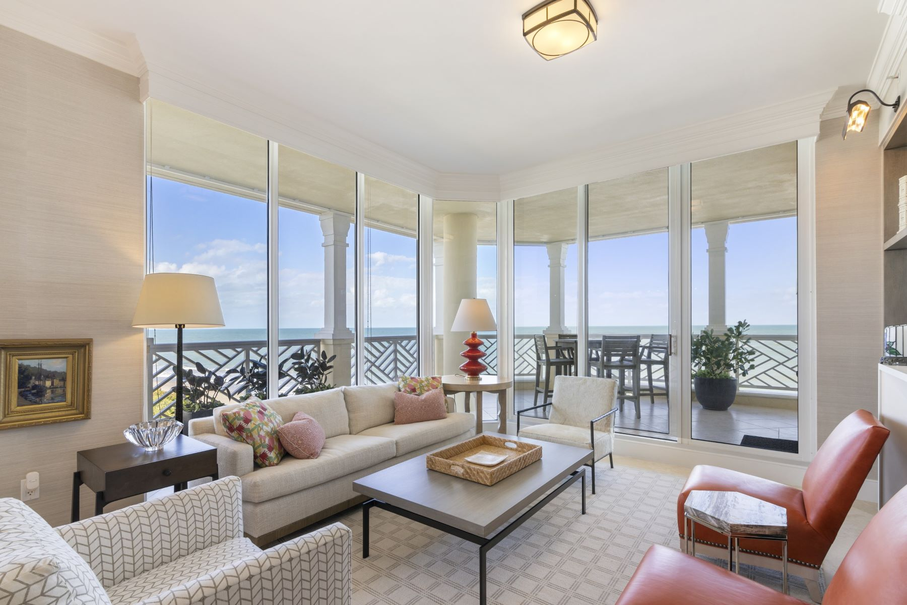 Property for Sale at Spectacular Oceanfront Penthouse 200 E Sea Colony Drive PH-D Indian River Shores, Florida 32963 United States