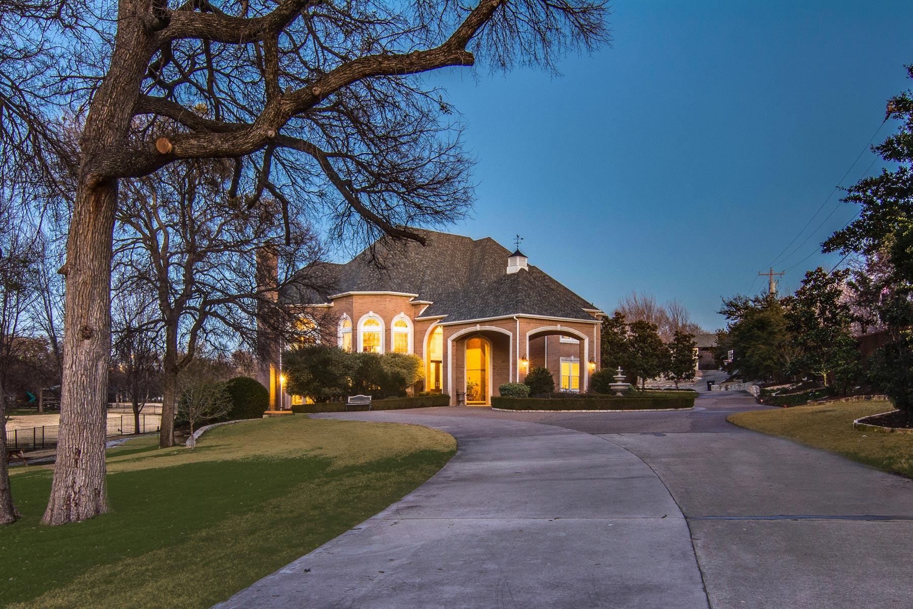 Property For Sale at Private Stonebriar Creek Estate