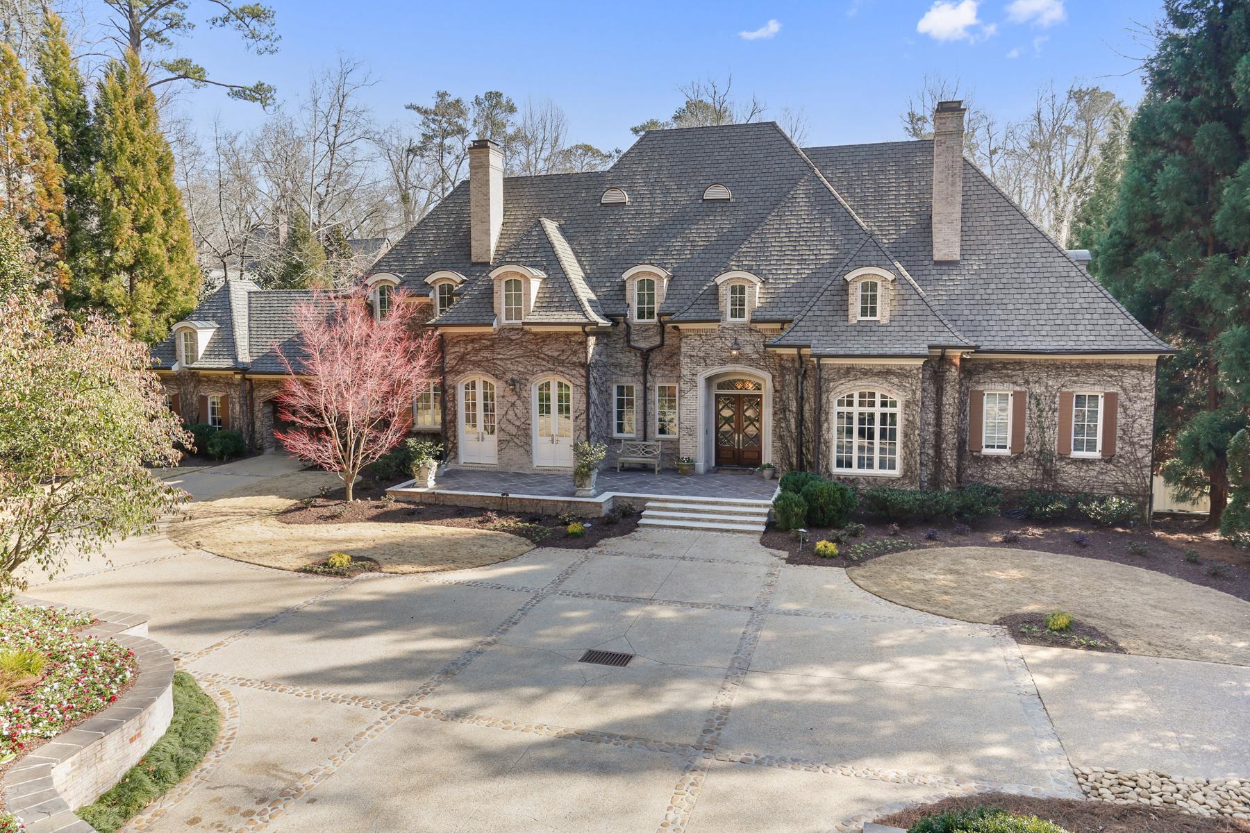 Single Family Home for Sale at Buckhead Palace 714 W Conway Drive NW Buckhead, Atlanta, Georgia, 30327 United States