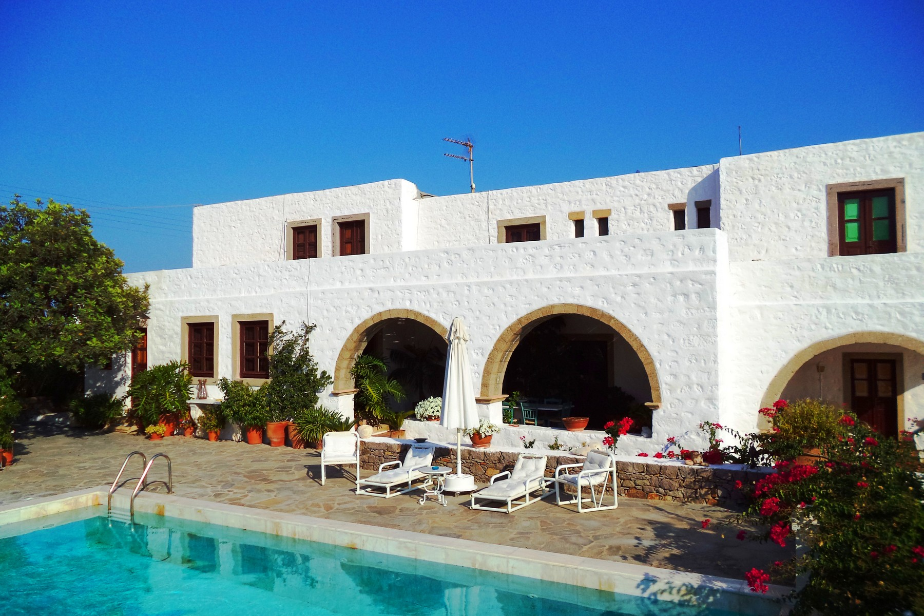 Nhà ở một gia đình vì Bán tại Patmos Historic Villa Patmos, Dodecanese, South Aegean Sea Other Southern Aegean, Nam Aegean 85500 Hy Lạp