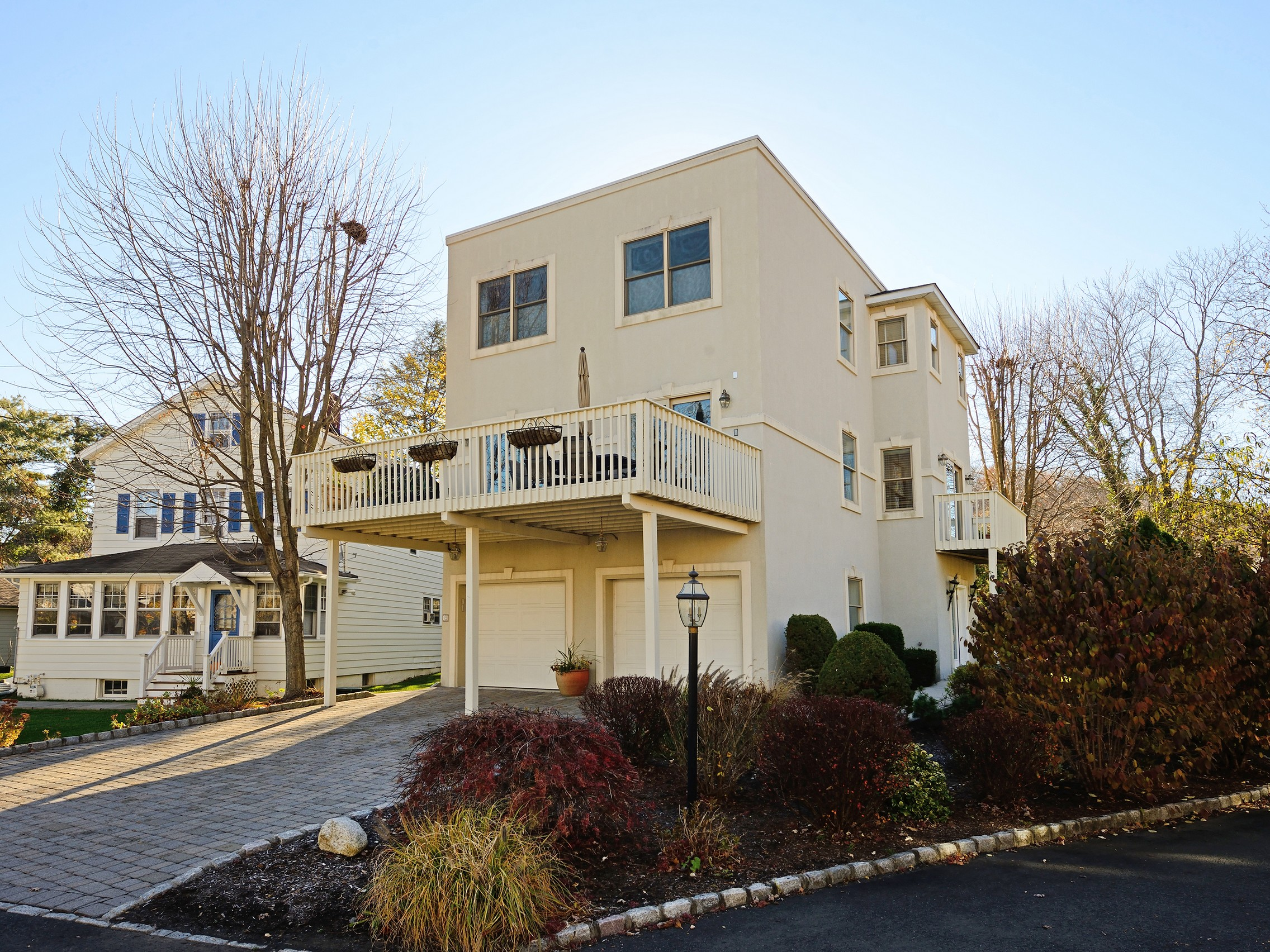 Single Family Home for Sale at Contemporary in Private Location 19 Liberty St Piermont, New York 10968 United States