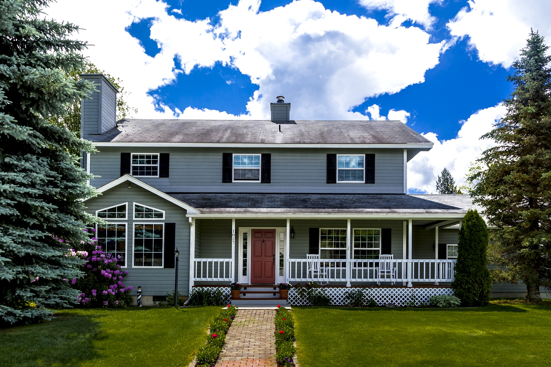 Single Family Home for Sale at Two Story in Sandpoint 1827 Megan Lane Sandpoint, Idaho 83864 United States