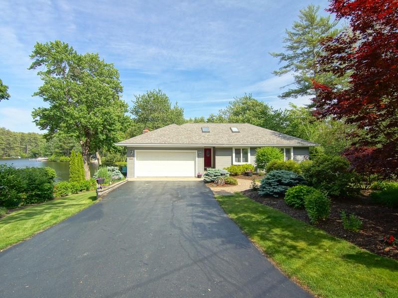 Villa per Vendita alle ore Paradise Found on a New Hampshire Pond 213 Micah Terrace Milton, New Hampshire 03851 Stati Uniti