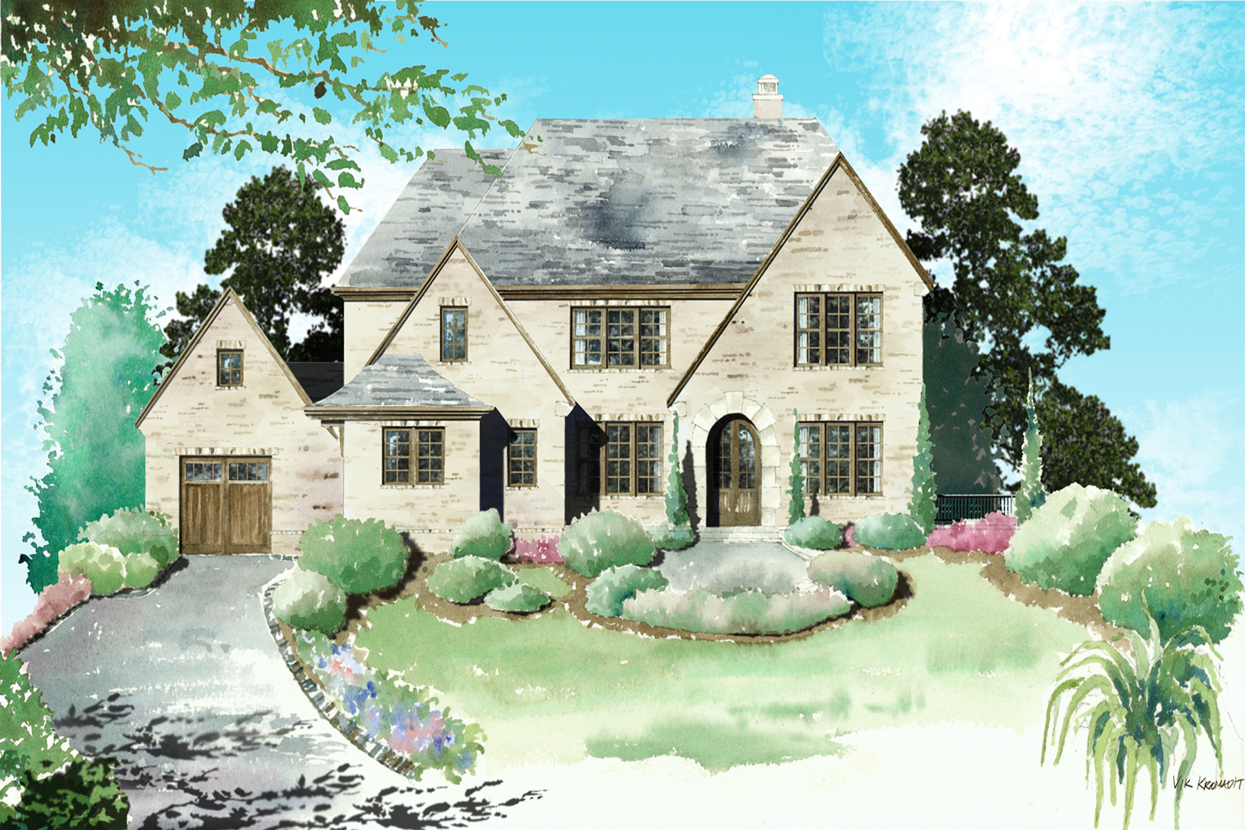 Villa per Vendita alle ore Jim Chapman New Construction 5010 Riverview Road Sandy Springs, Georgia, 30327 Stati Uniti