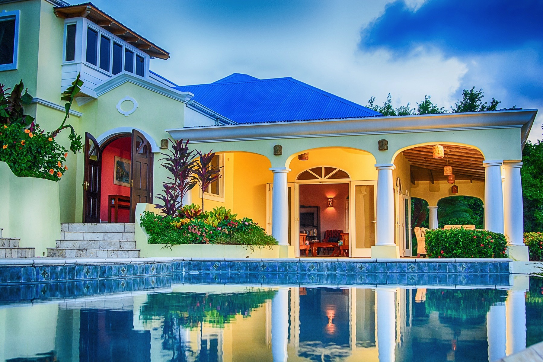 Single Family Home for Sale at Blu Tortu Belmont, British Virgin Islands