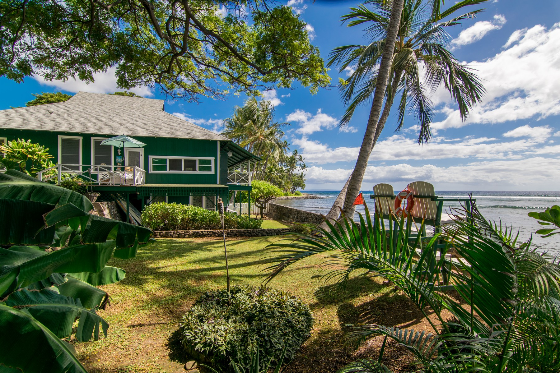 Single Family Home for Sale at Classic Coastal Living 239 Front Street Lahaina, Hawaii 96761 United States