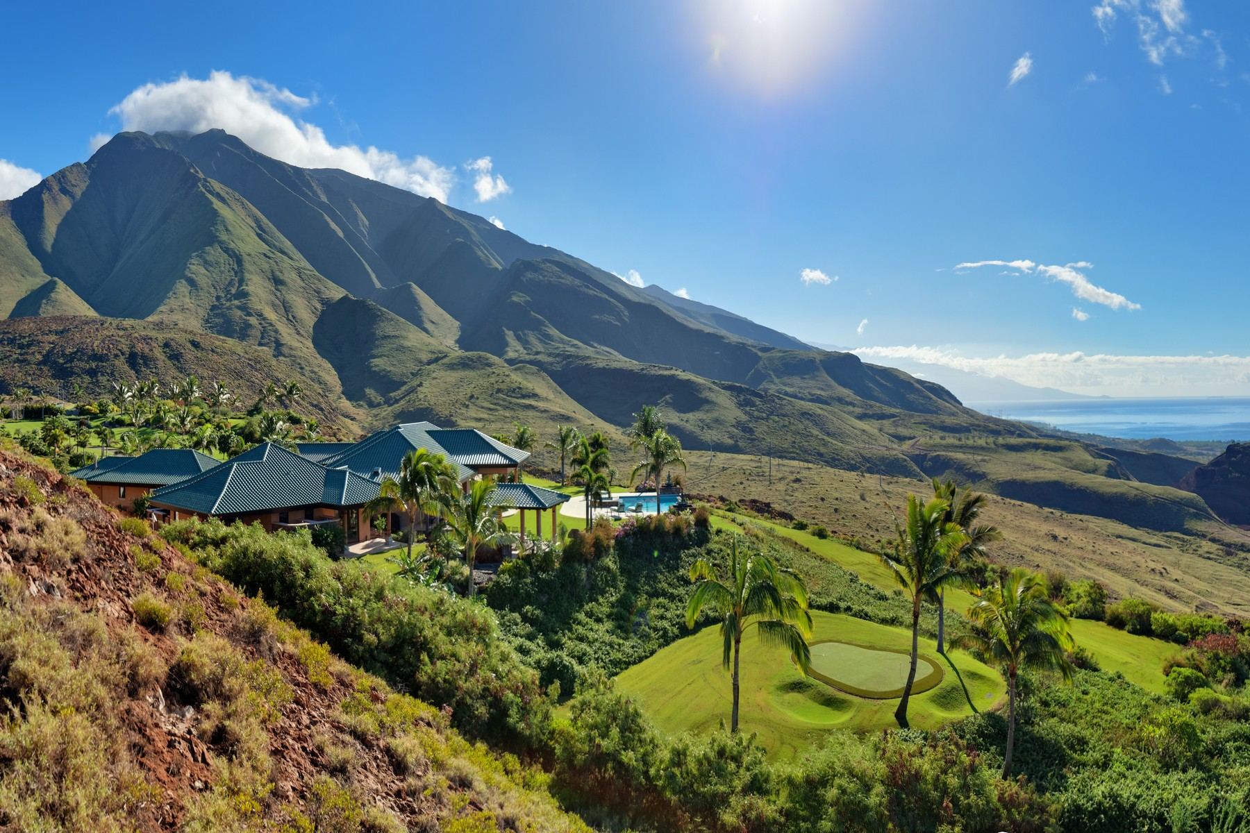 Single Family Home for Sale at The Ultimate West Maui Estate 454 Wailau Place Lahaina, Hawaii 96761 United States