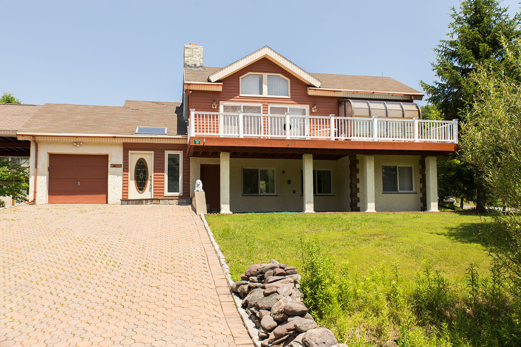 Single Family Home for Sale at Contemporary Ski Getaway 10 Gaby Road Hunter, New York 12442 United States