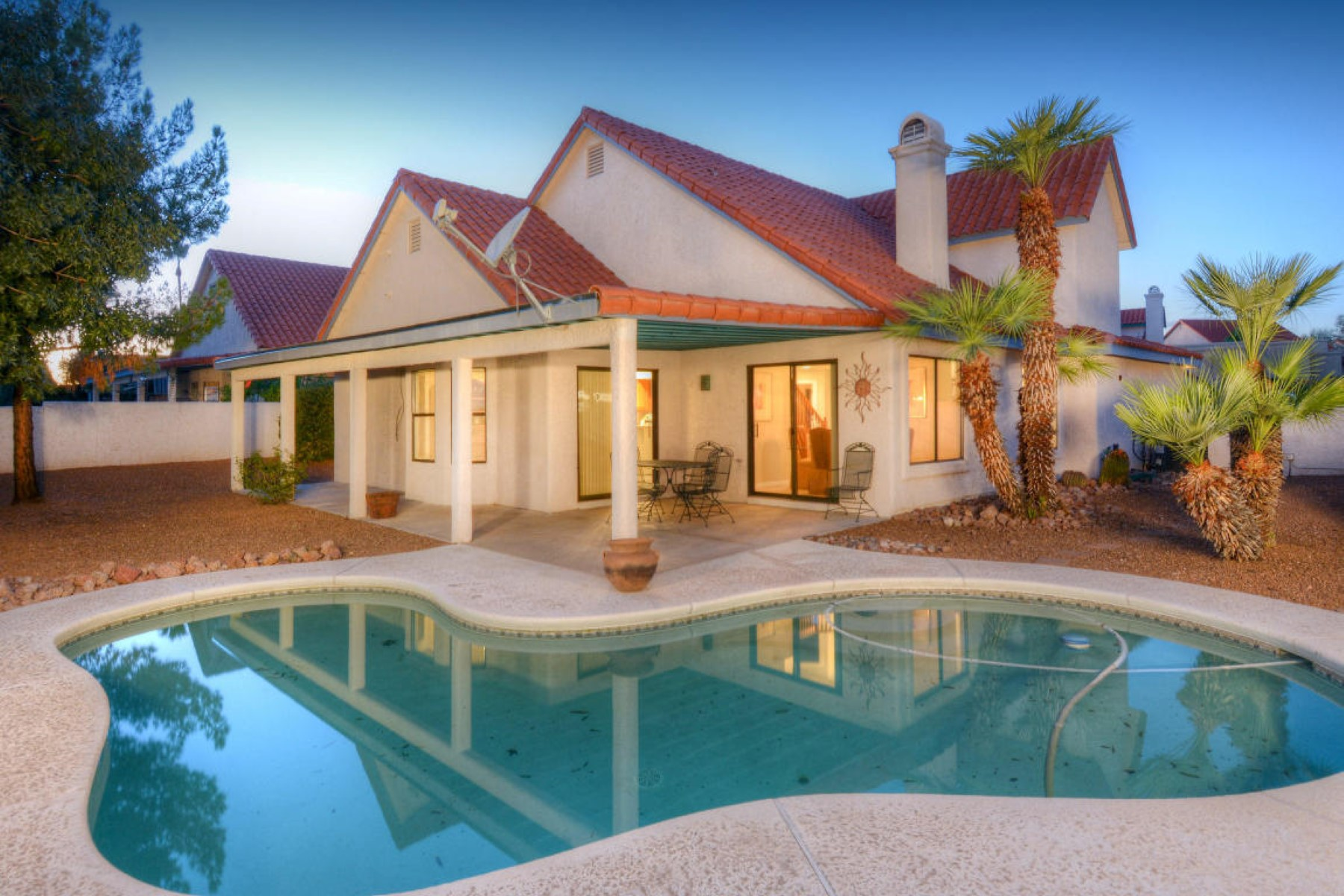 Property For Sale at Charming Oro Valley home nestled on premium golf course lot