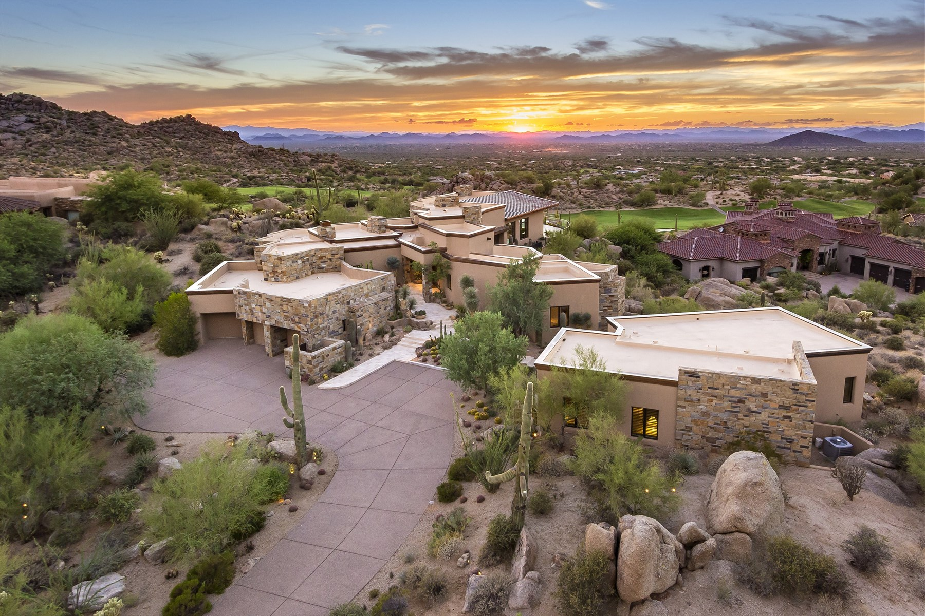 Single Family Home for Sale at One-of-a-kind hillside beauty 27770 N 103rd Pl Scottsdale, Arizona, 85262 United States