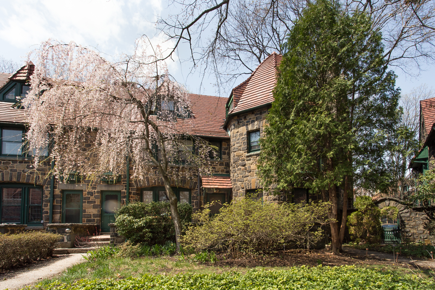 """Townhouse for Sale at """"IMPRESSIVE FIELDSTONE TOWNHOUSE"""" 33 Bow Street, Forest Hills Gardens, Forest Hills Gardens, Forest Hills, New York 11375 United States"""