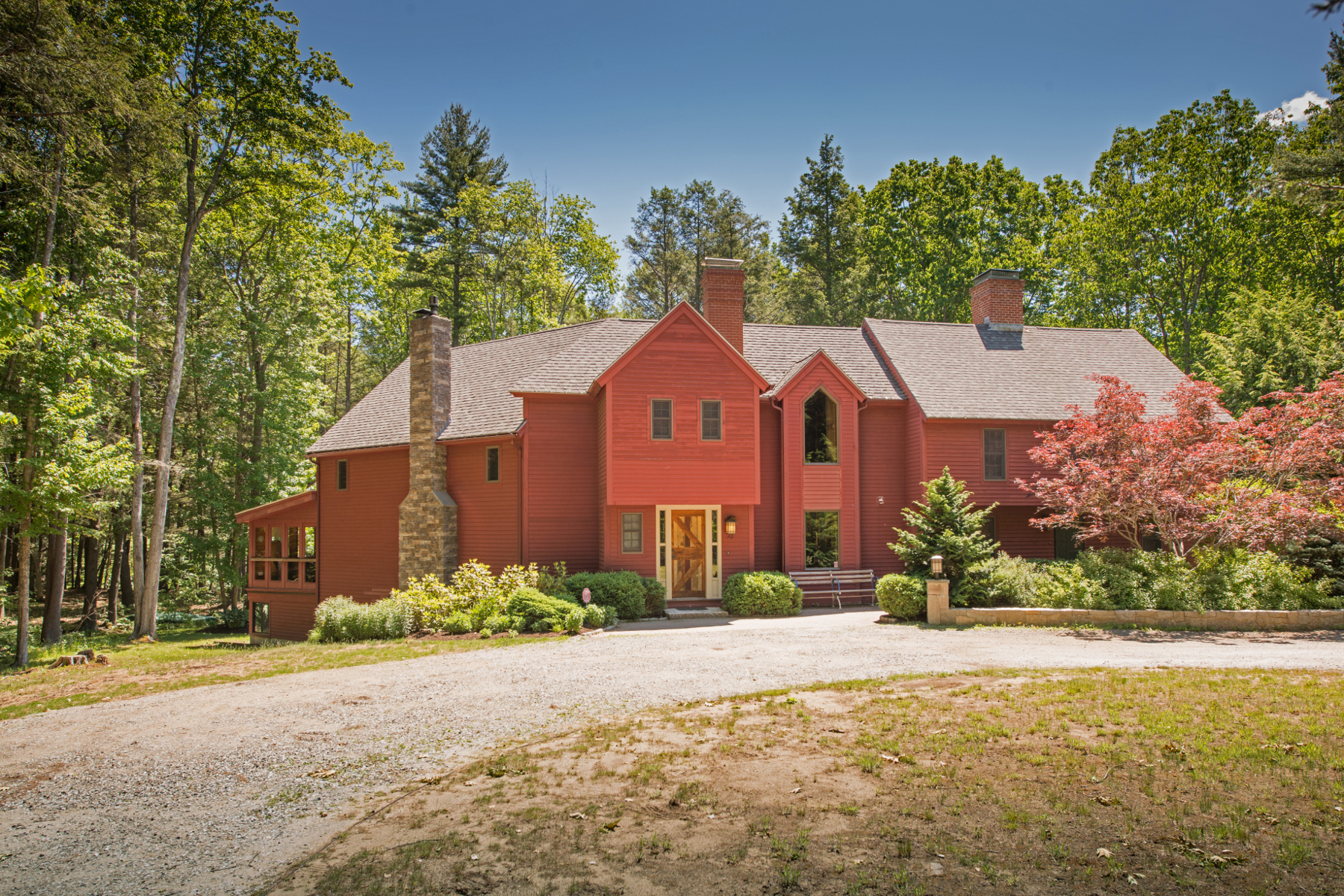 Single Family Home for Sale at Contemporary Colonial in Ogunquit 22 Autumn River Lane Ogunquit, Maine, 03907 United States