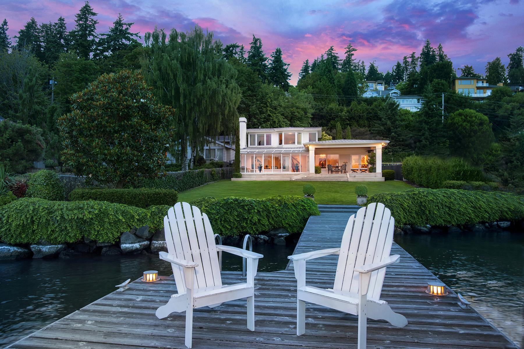 Single Family Home for Sale at Juanita 8851 NE Juanita Lane Kirkland, Washington 98034 United States