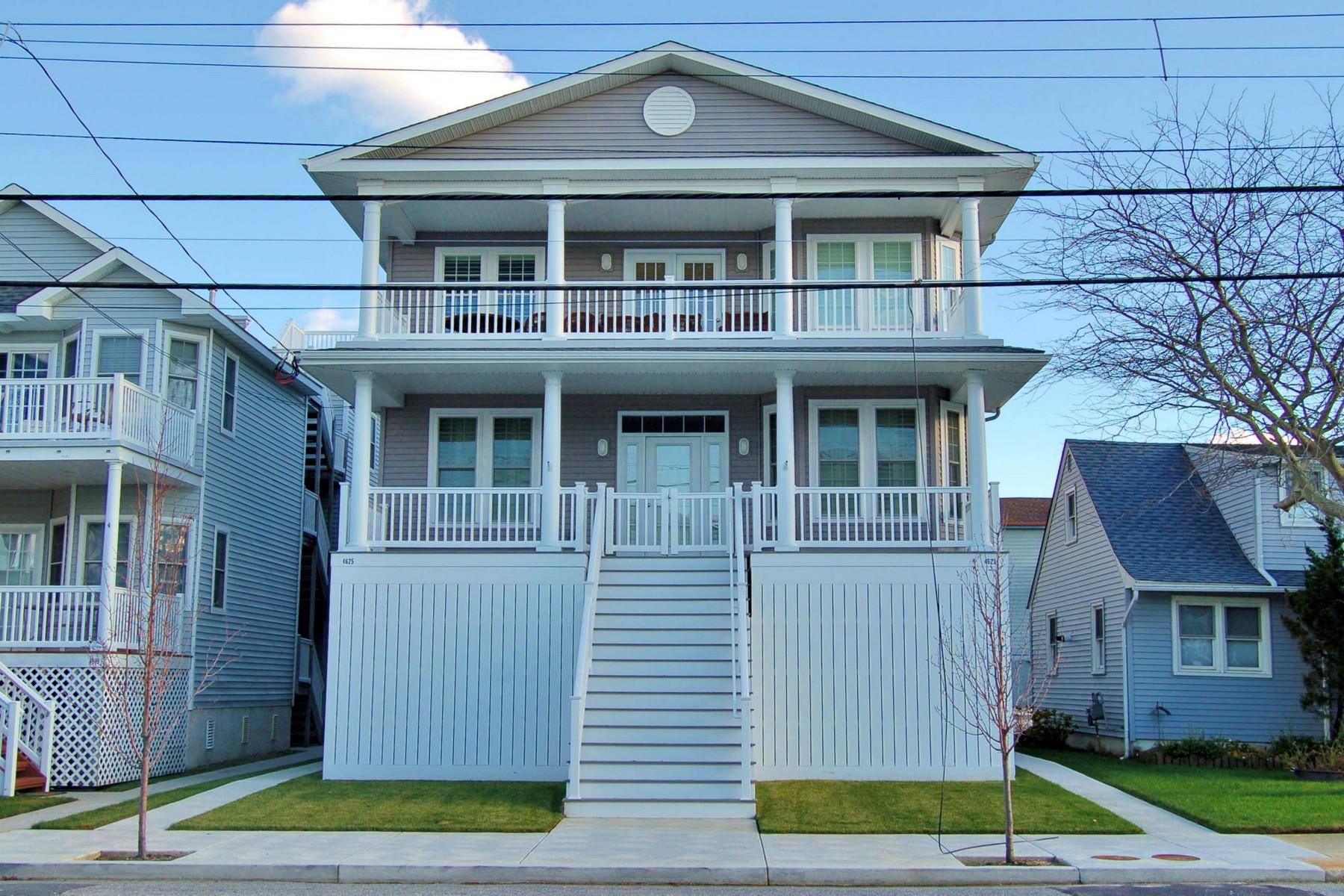 단독 가정 주택 용 매매 에 Second Floor Condo 4625 Asbury Avenue Ocean City, 뉴저지 08226 미국