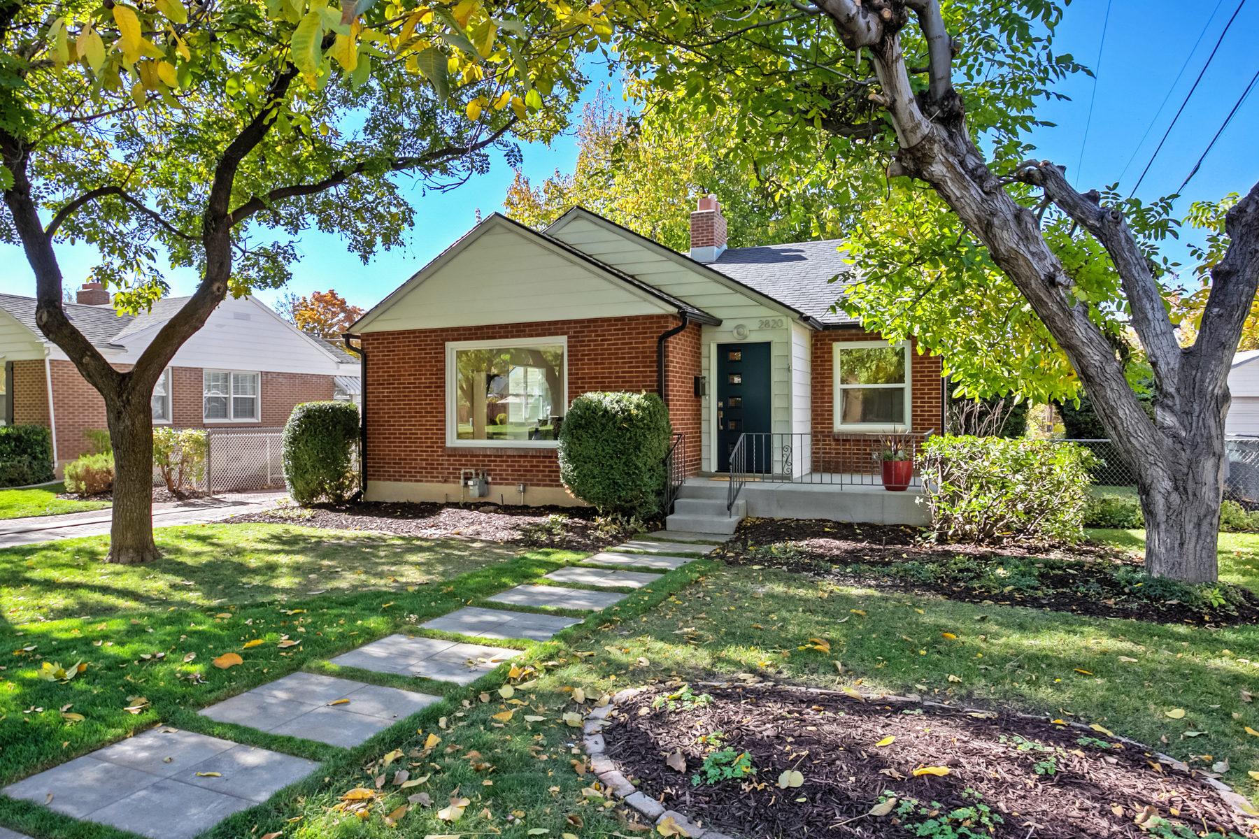 獨棟家庭住宅 為 出售 在 Home Sweet Hartford in Sugarhouse 2820 S Hartford St Salt Lake City, 猶他州, 84106 美國