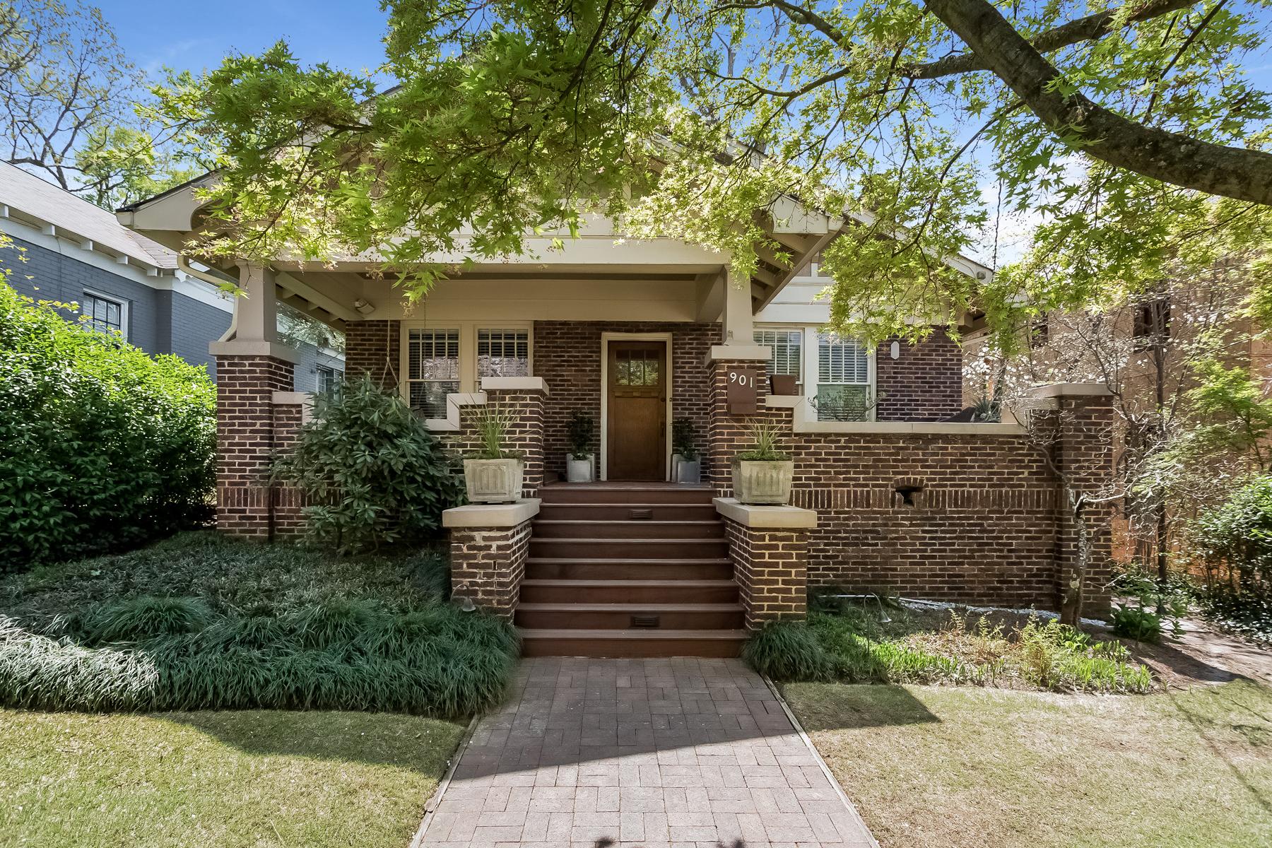 Single Family Home for Sale at Renovated Virginia Highland Bungalow 901 Adair Avenue NE Virginia Highland, Atlanta, Georgia, 30306 United States