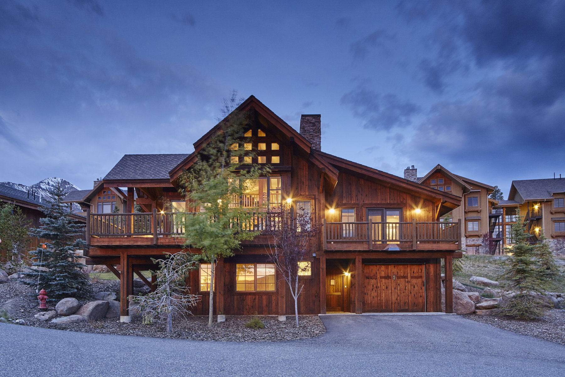 Casa Unifamiliar por un Venta en Ski-in Ski-out Chalet 6 Silver Star Way, Alpine Meadows Chalet #72 Big Sky, Montana 59716 Estados Unidos