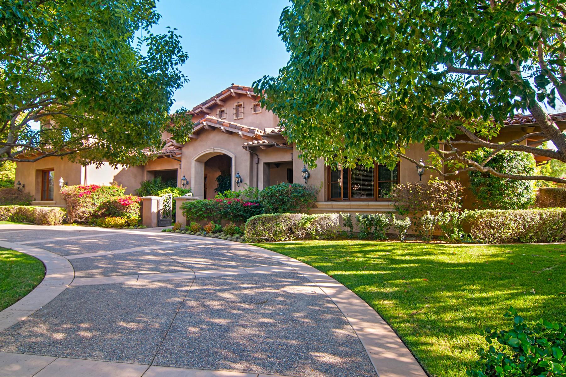 Vivienda unifamiliar por un Venta en 18451 Calle La Serra Rancho Santa Fe, California, 92067 Estados Unidos