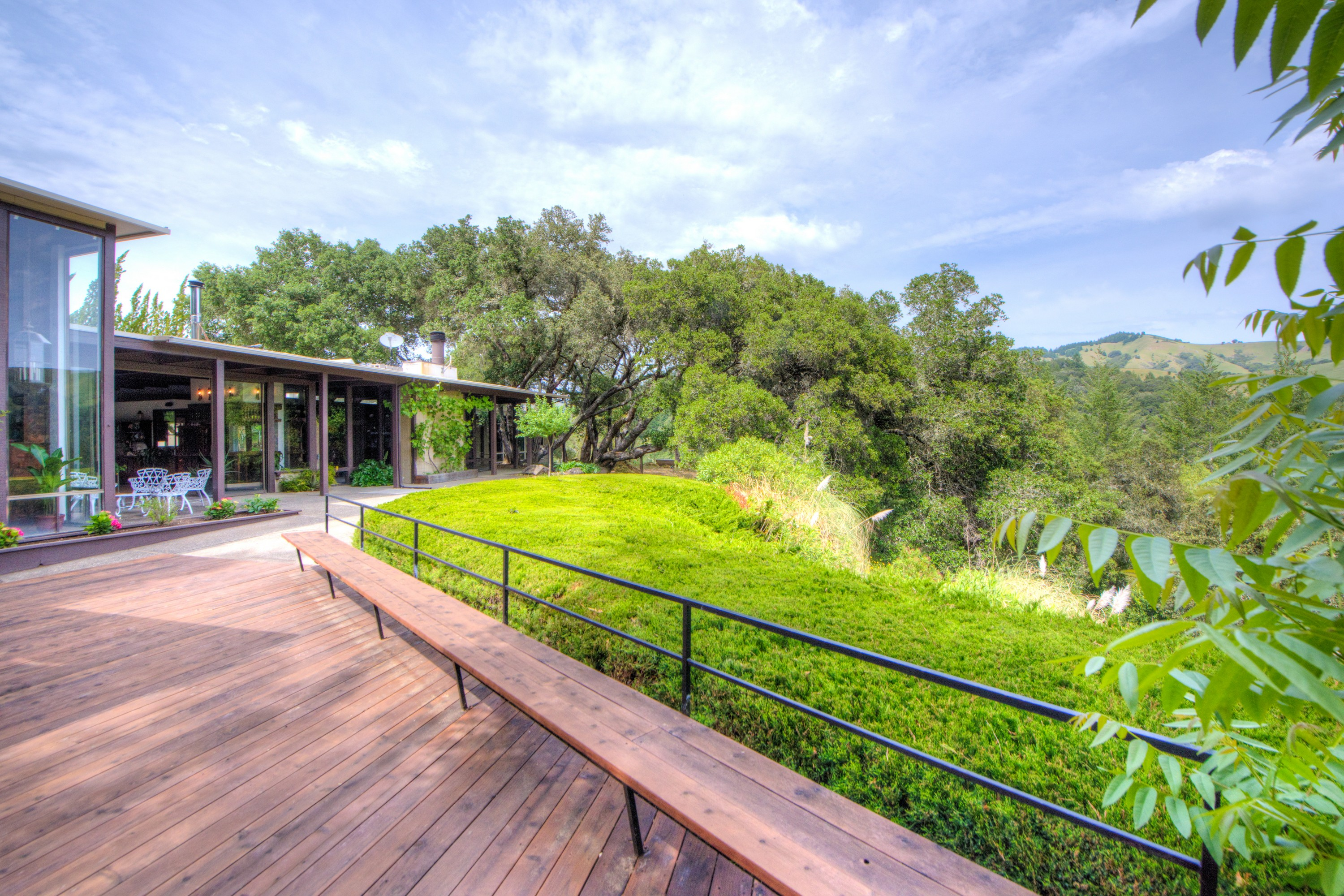 Single Family Home for Sale at Ideal Retreat with Natural Features and Mid-Century Architecture 5675 Lucas Valley Road Nicasio, California, 94946 United States
