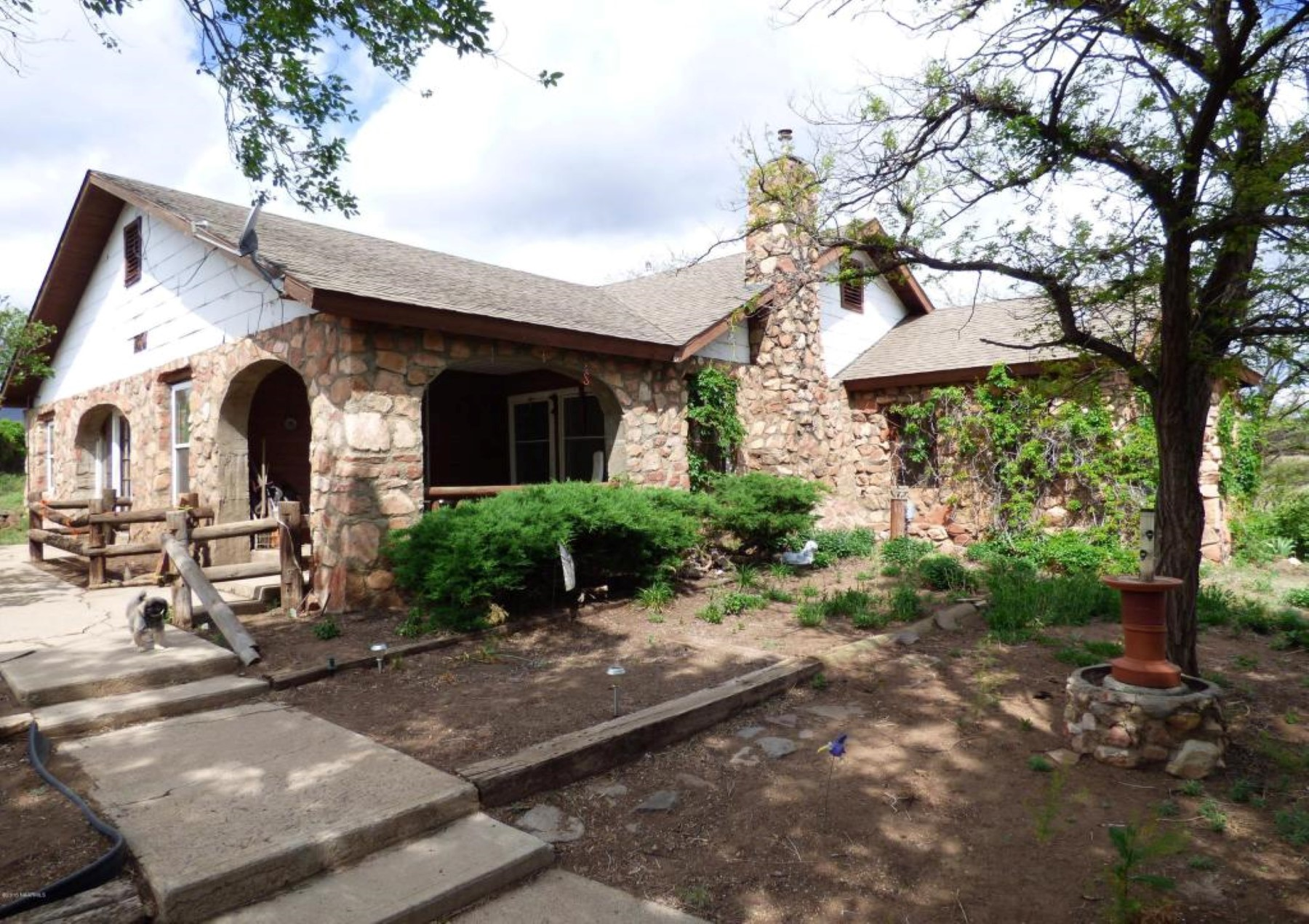 Single Family Home for Sale at Historic rock house has never before been on the market. 13470 N Hwy 89 Flagstaff, Arizona 86004 United States