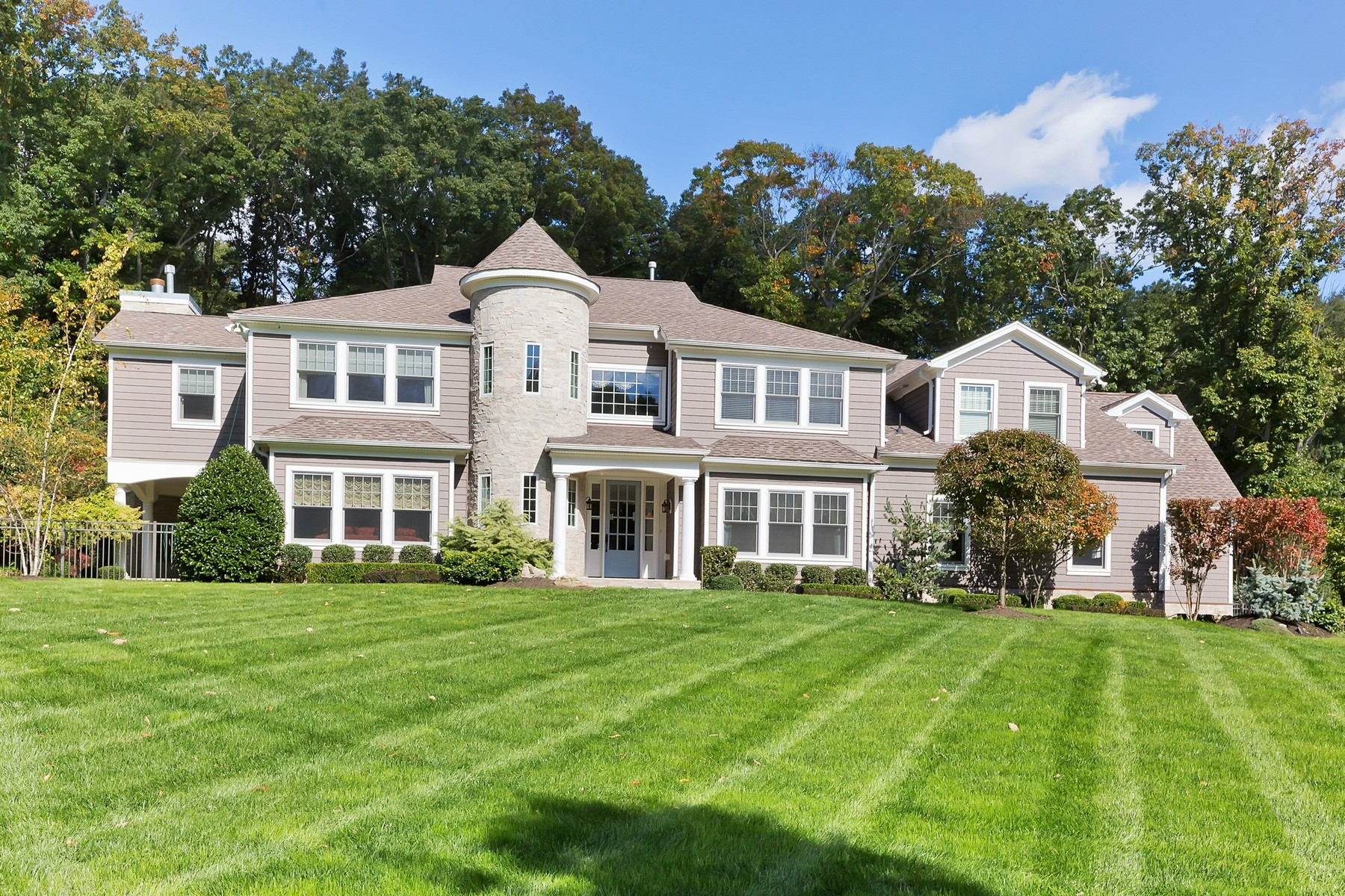 Single Family Home for Sale at Extraordinarily Sophisticated Custom Colonial 9 Withers Lane Middletown, New Jersey 07748 United States