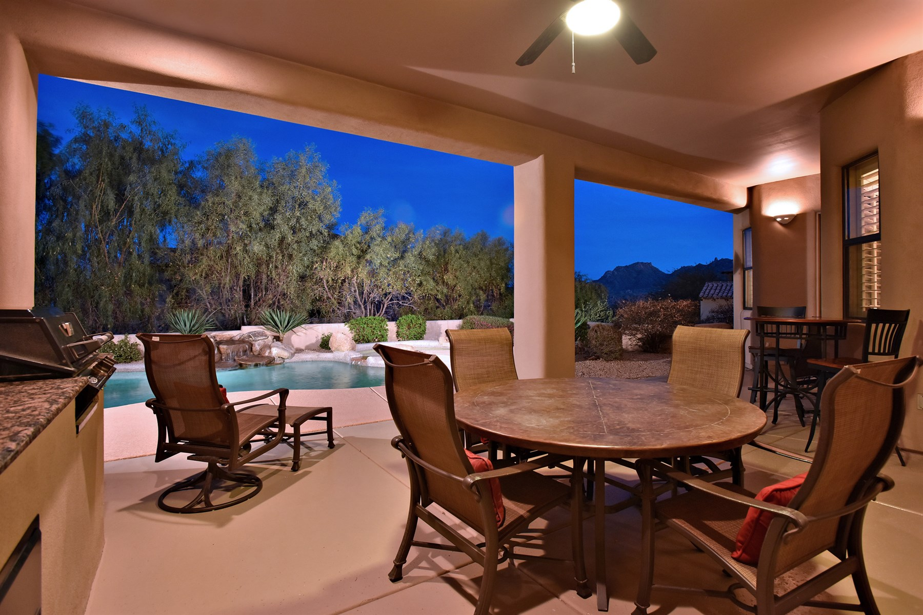 Single Family Home for Sale at Troon Home with The Best Of Indoor/Outdoor Living For Which Scottsdale Is Known 25341 N 113th Way Scottsdale, Arizona 85255 United States