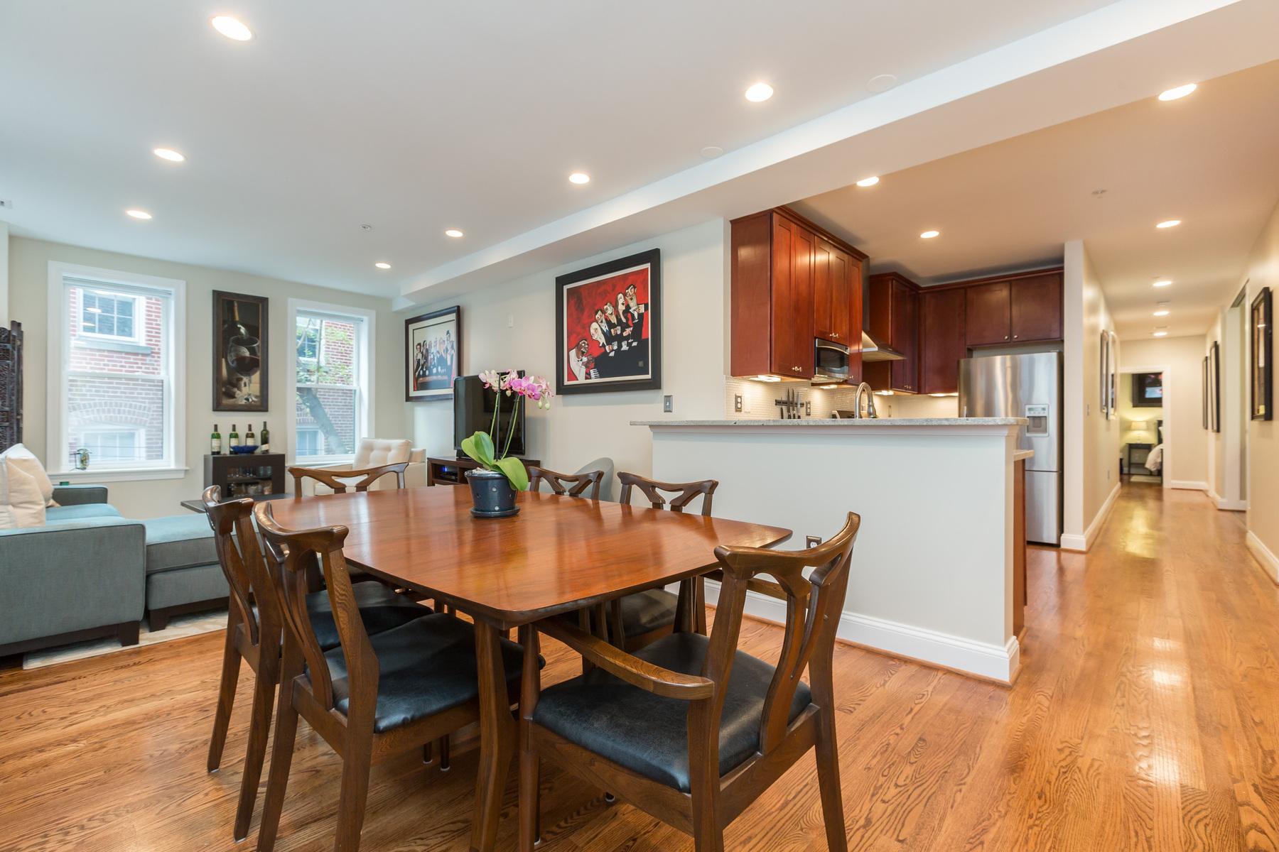 Condominium for Sale at NW DC: Kalorama 1840 Vernon Street Nw 203 Washington, District Of Columbia 20009 United States