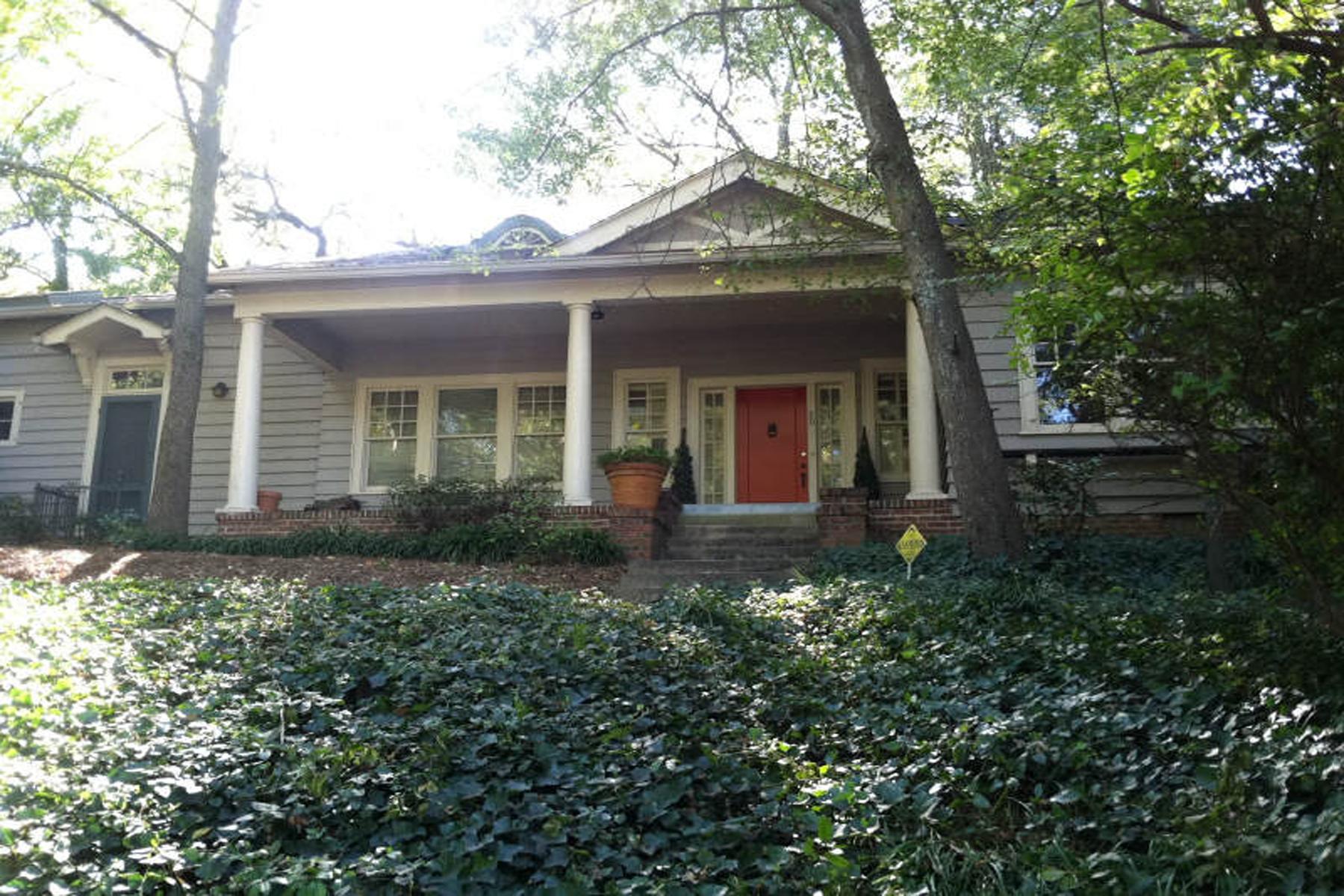 一戸建て のために 売買 アット Outstanding Opportunity In Ansley Park 30 Polo Drive Ansley Park, Atlanta, ジョージア 30309 アメリカ合衆国