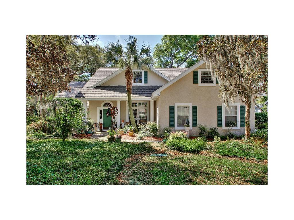 Single Family Home for Sale at 4953 Spainsh Oaks Circle 4953 Spanish Oaks Circle Fernandina Beach, Florida, 32034 United States