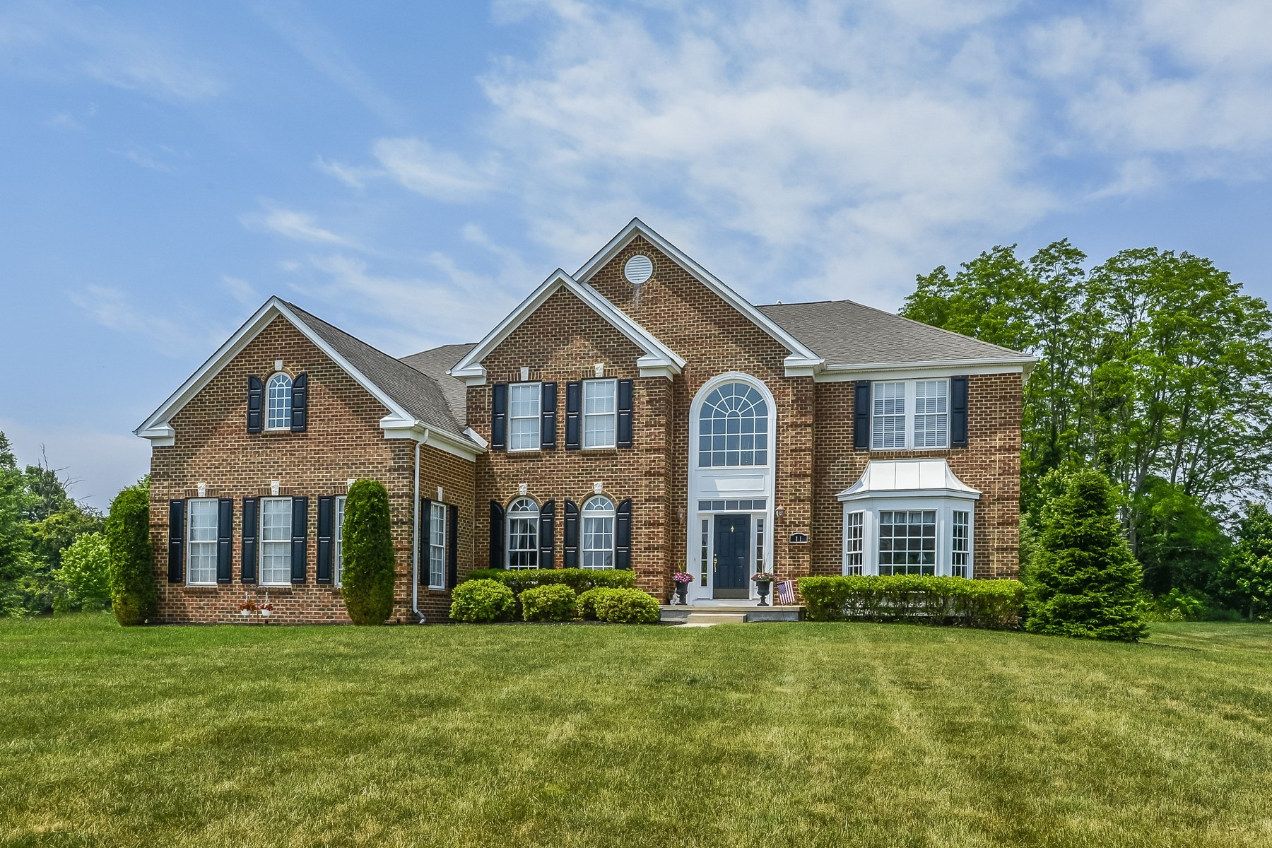 Property For Sale at Beautiful Colonial with Gorgeous Two-Story Foyer