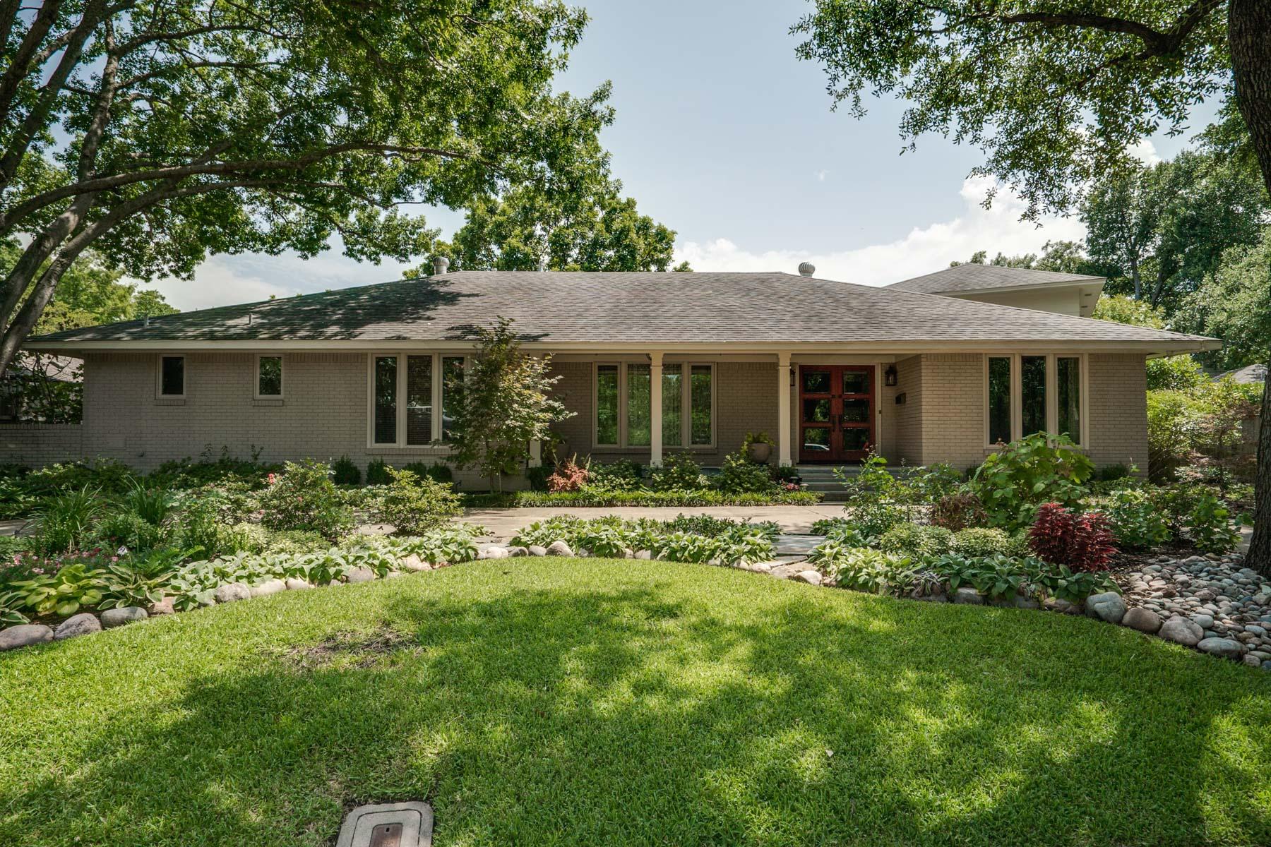 Maison unifamiliale pour l Vente à 5714 Surrey Square Lane, Dallas 5714 Surrey Square Ln Dallas, Texas, 75209 États-Unis