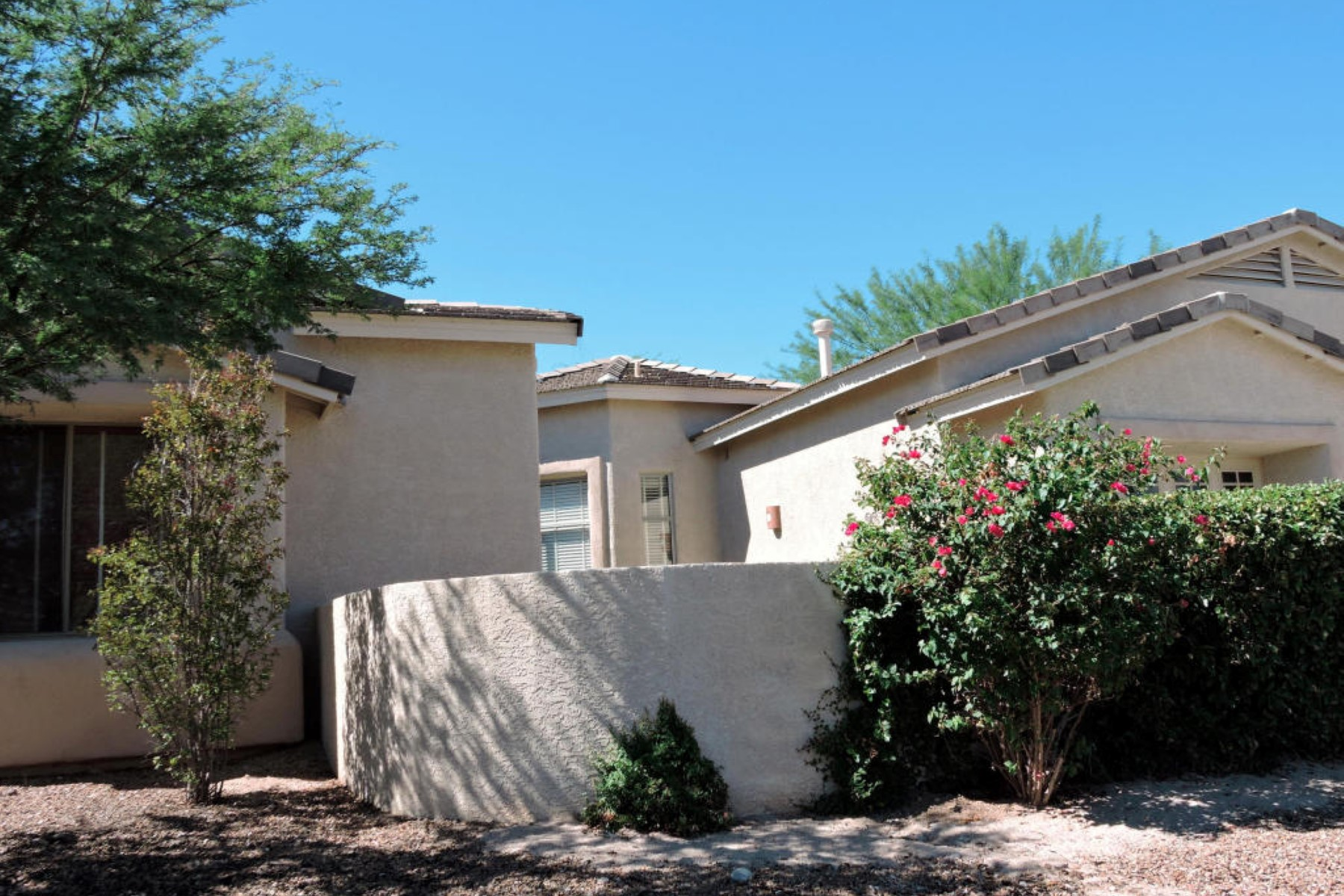 Vivienda unifamiliar por un Venta en Beautiful Desert Oasis On Large Lot With Amazing Landscape & Mature Fruit Trees 11651 N Ribbonwood Drive Tucson, Arizona 85737 Estados Unidos