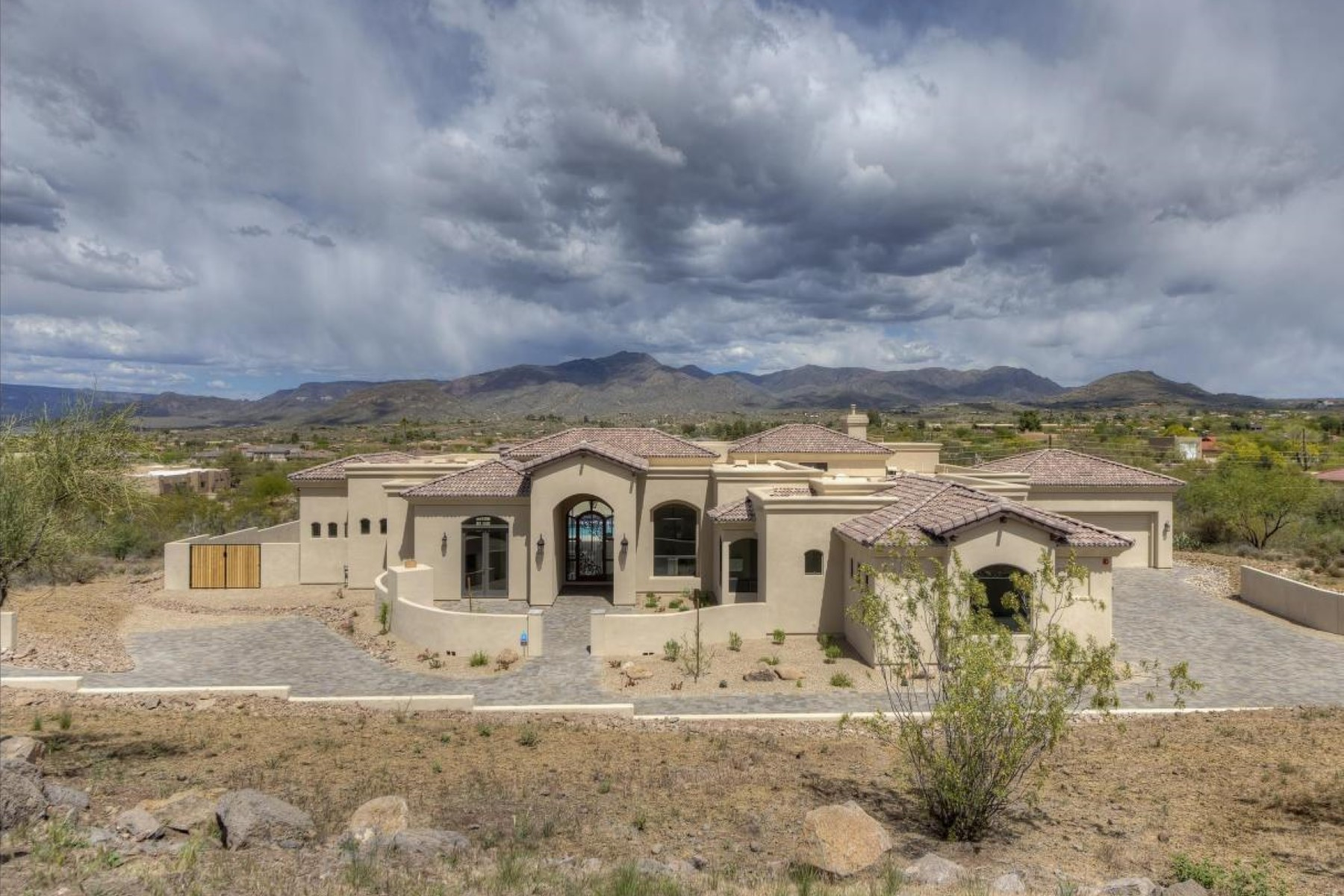 open-houses property at Charming contemporary home with 360 degree views