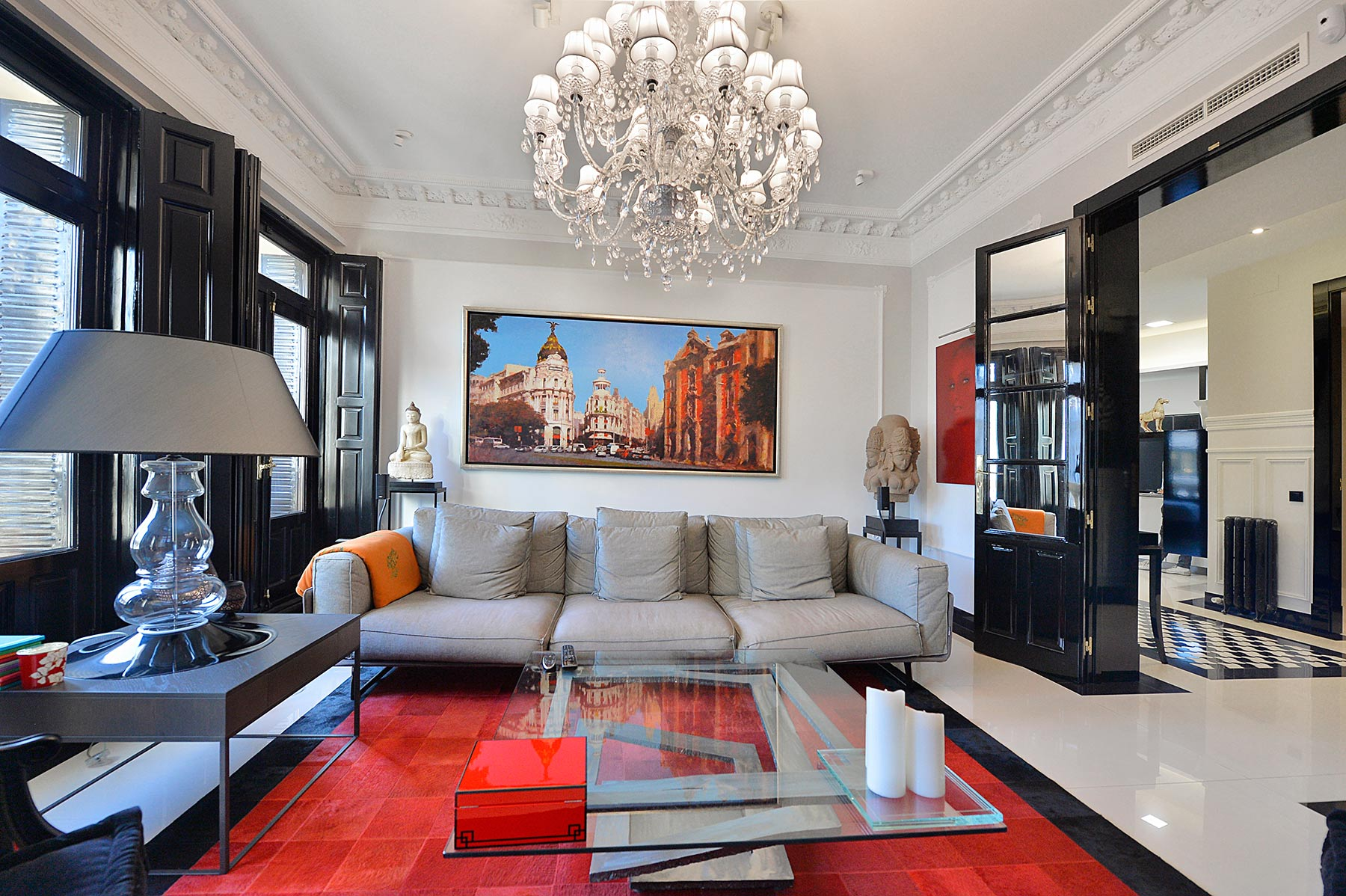Single Family Home for Sale at Atico espectacular de diseño Madrid, Madrid, Spain