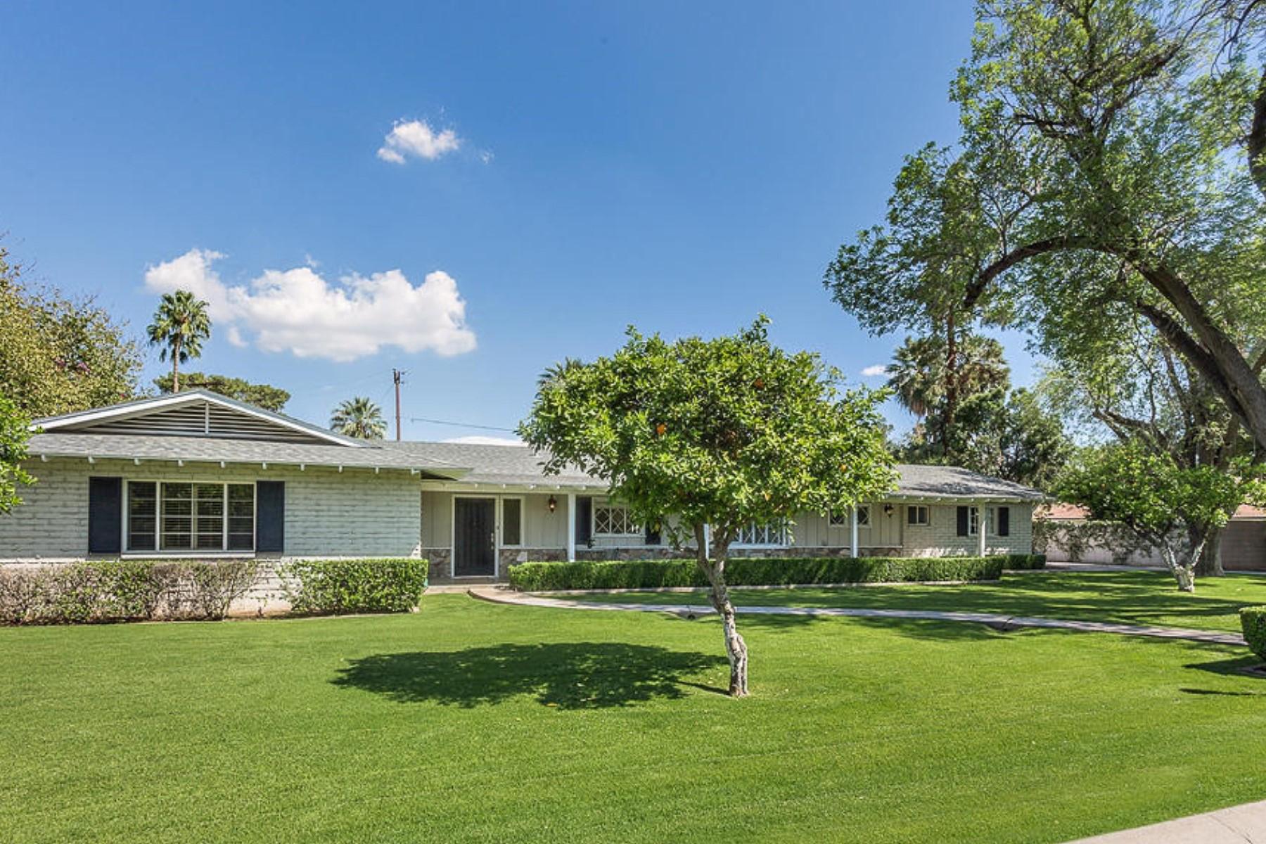 一戸建て のために 売買 アット Gorgeous 1950s Ranch Style Home 7315 N 1st Street Phoenix, アリゾナ 85020 アメリカ合衆国