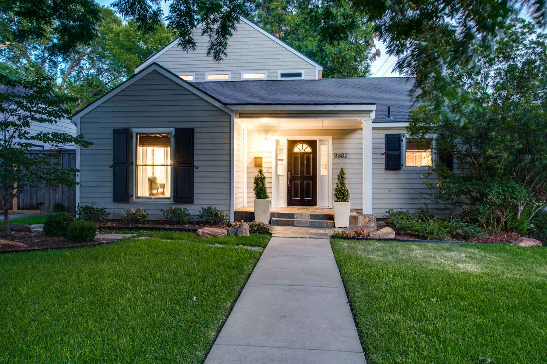 Single Family Home for Sale at 1930's Cottage 8602 Angora Street Dallas, Texas, 75218 United States