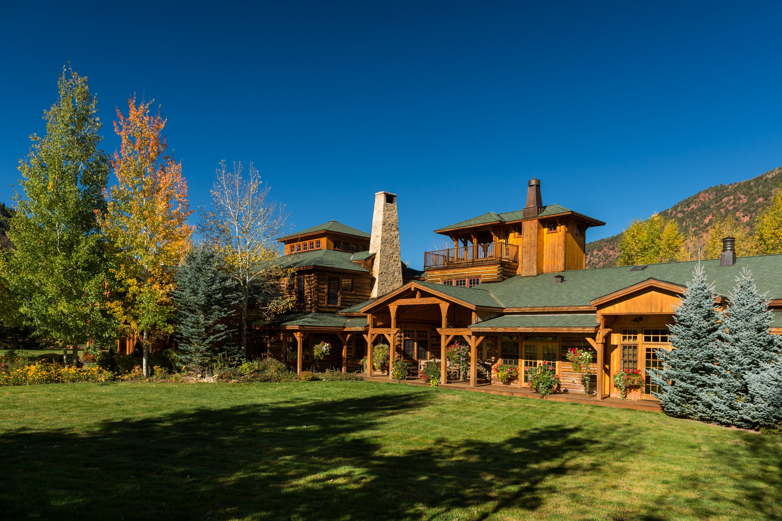 Maison unifamiliale pour l Vente à Meanwhile Ranch 1621 Lower River Rd Snowmass, Colorado, 81654 États-Unis