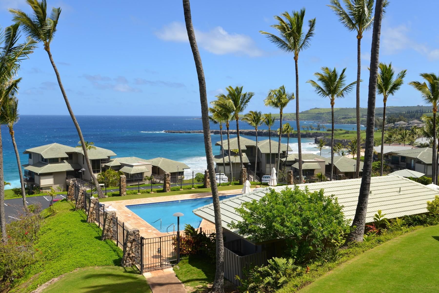 Condominio por un Venta en Extraordinary Kapalua Townhome with Inspiring Views 500 Bay Drive, Kapalua Bay Villa 15B3 Kapalua, Hawaii 96761 Estados Unidos