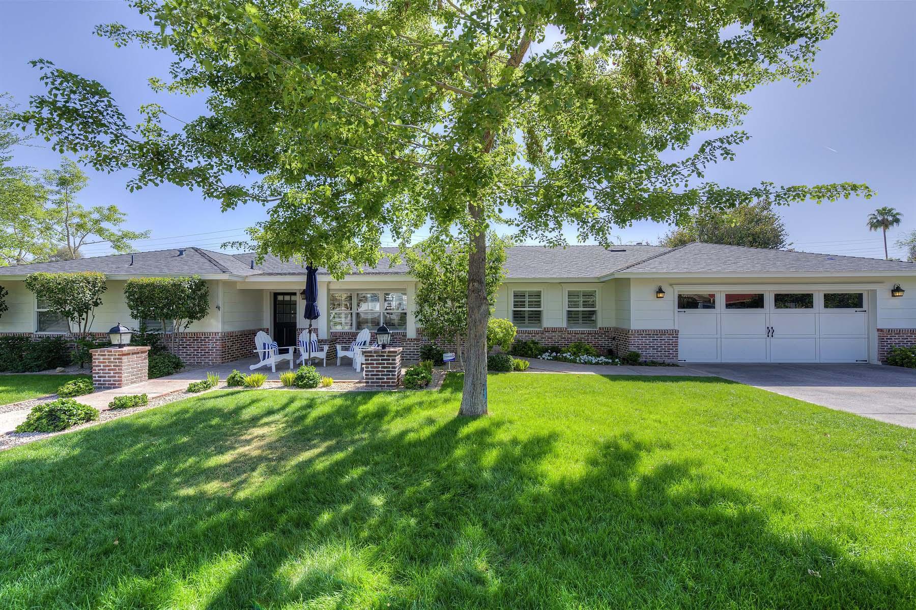 Einfamilienhaus für Verkauf beim Charming Arcadia home. 4619 E CALLE VENTURA Phoenix, Arizona 85018 Vereinigte Staaten