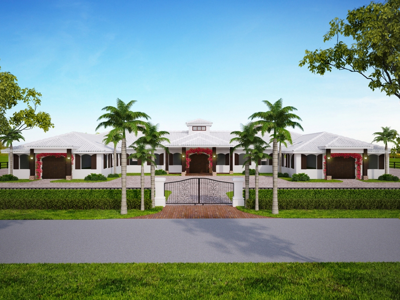 Granjas / Hacienda / Platanción por un Venta en Sunset West Farm 14878 Grand Prix Village Drive Wellington, Florida 33414 Estados Unidos