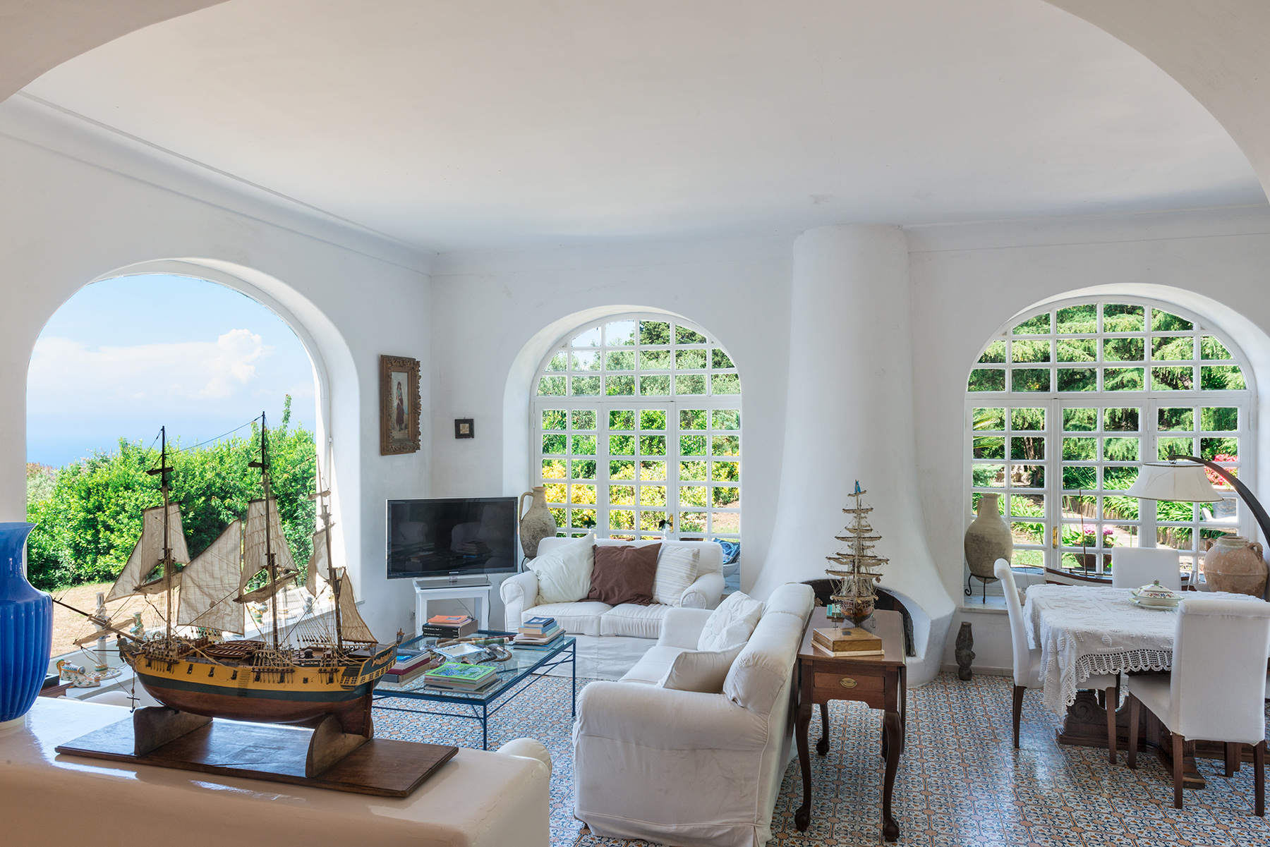 Vivienda unifamiliar por un Venta en Amazing villa in the heart of Anacapri Capri, Naples Italia