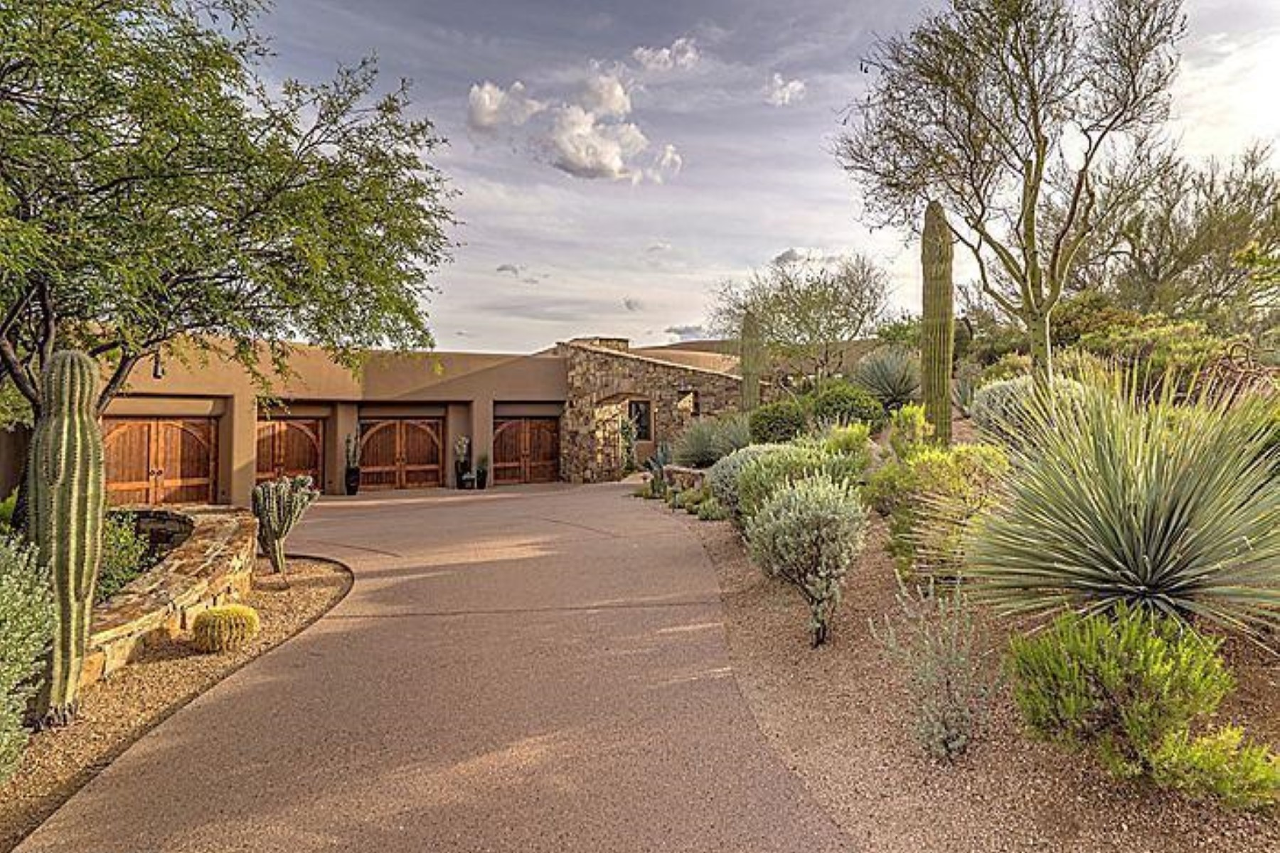 Property For Sale at Gorgeous custom home in Desert Mountain