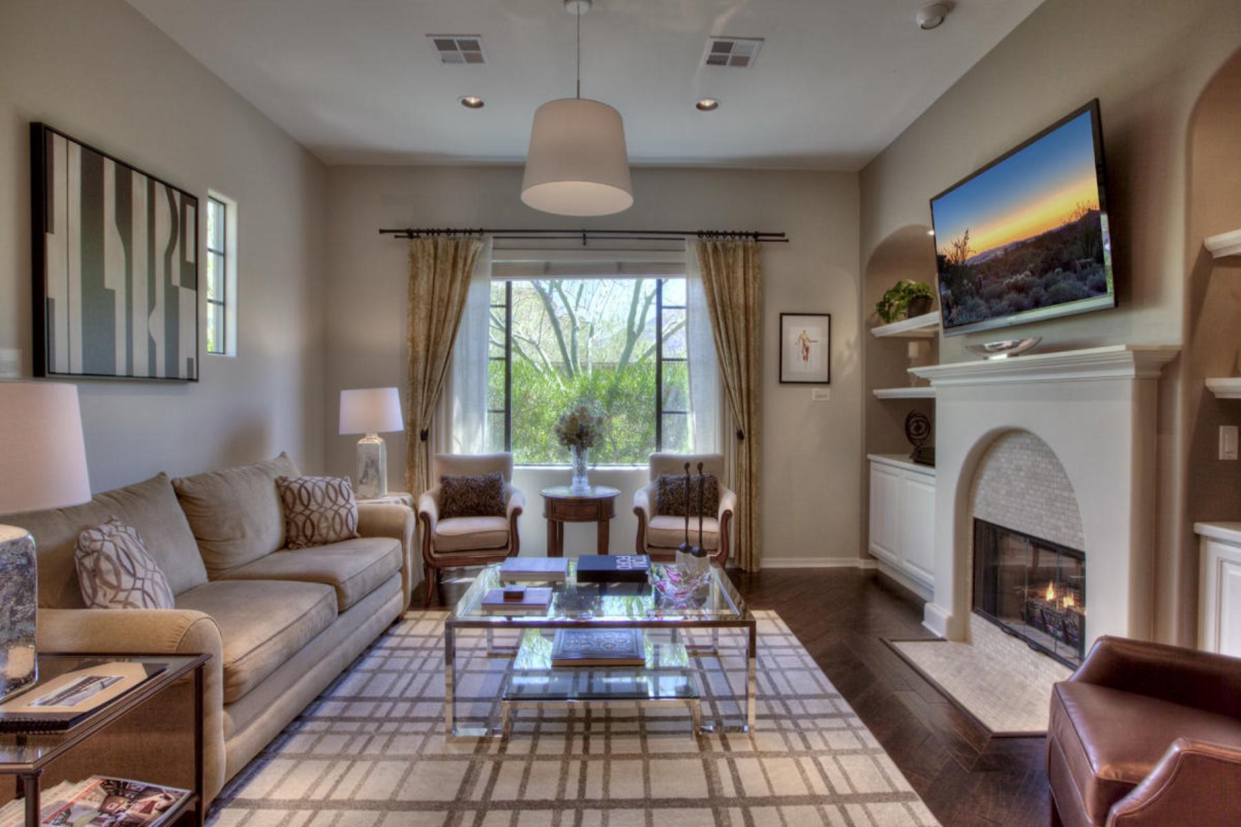 Residência urbana para Venda às Exceptional DC Ranch Courtyard home 18650 N THOMPSON PEAK PKWY 1041 Scottsdale, Arizona, 85255 Estados Unidos