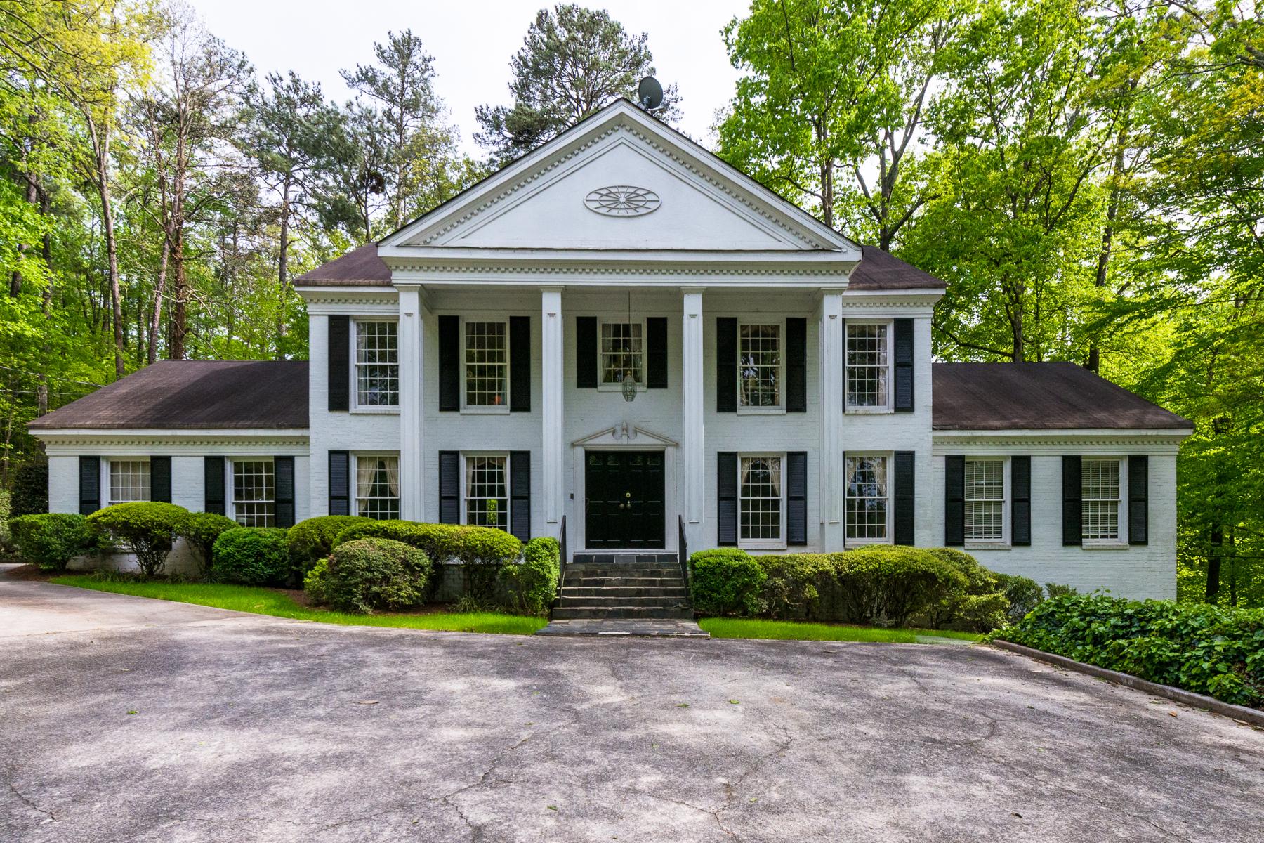 Villa per Vendita alle ore Five Acre Estate Property 4326 Harris Valley Road Atlanta, Georgia 30327 Stati Uniti