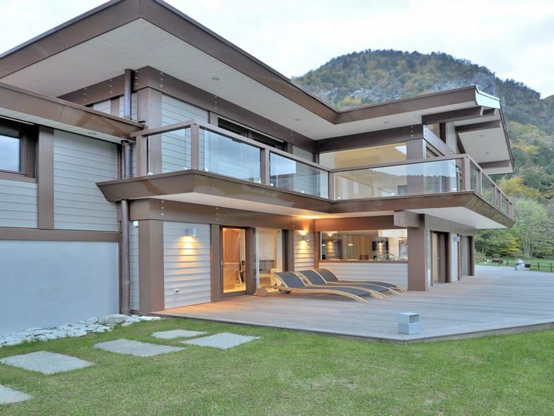 Частный односемейный дом для того Продажа на Superbe villa d'architecte Other Rhone-Alpes, Рона-Альпы 74230 Франция