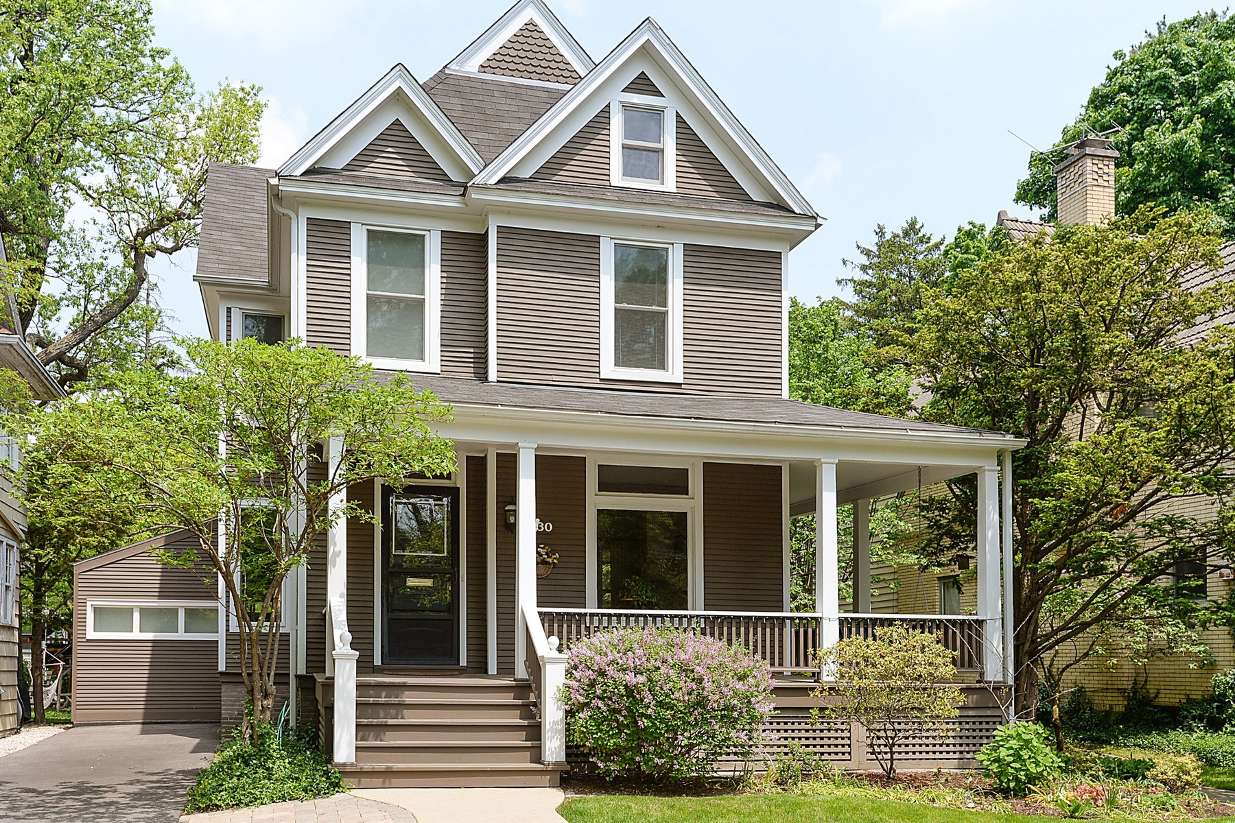 sales property at Charming East Wilmette Home Rich With Character