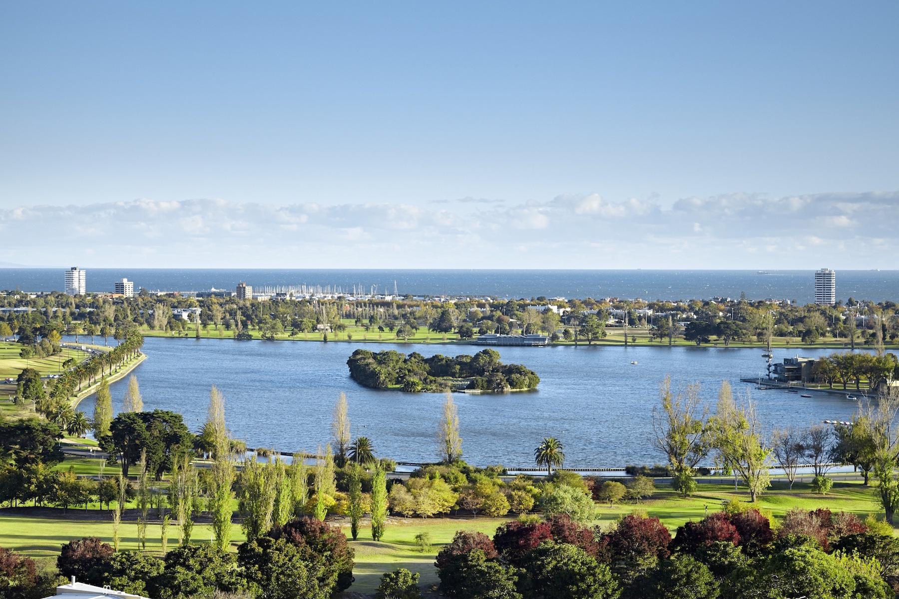 Apartman Dairesi için Satış at 1701 at 35 Albert Road, South Melbourne Melbourne, Victoria, 3205 Avustralya