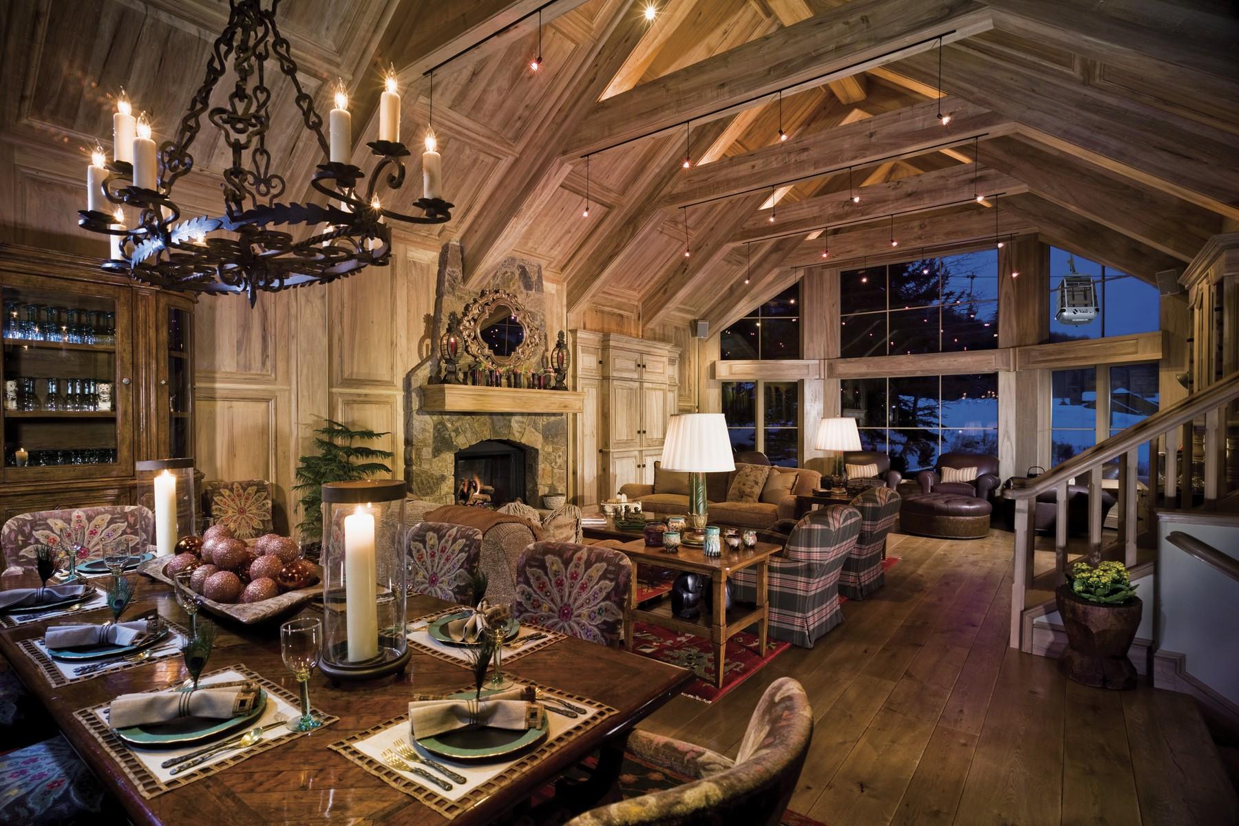 一戸建て のために 売買 アット Quintessential Vail Ski Home 483 Beaver Dam Road Vail, コロラド, 81657 アメリカ合衆国