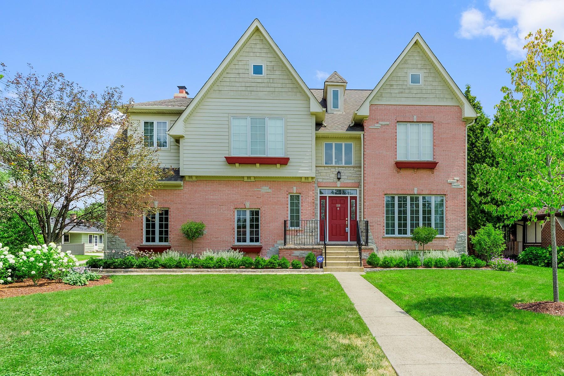 Maison unifamiliale pour l Vente à Quincy 5509 S. Quincy Hinsdale, Illinois, 60521 États-Unis