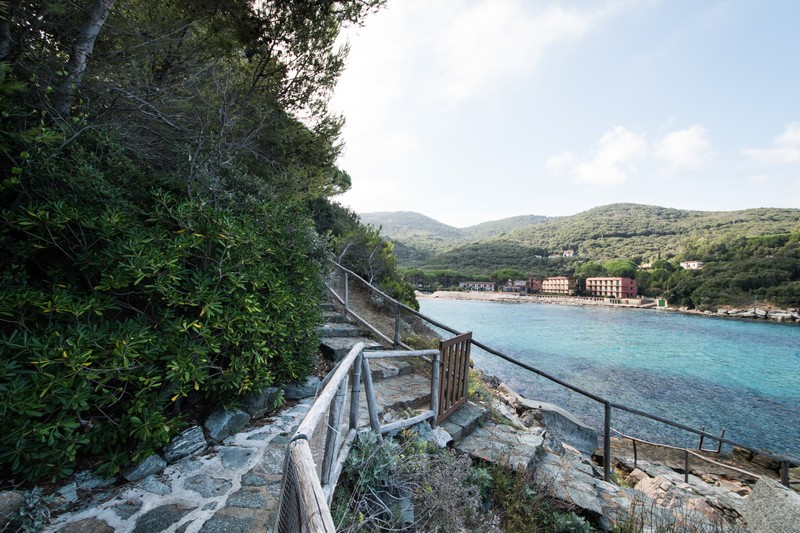 Additional photo for property listing at Elba's style Villa with private beach Via di Spartaia Marciana Marina, Livorno 57030 Italie
